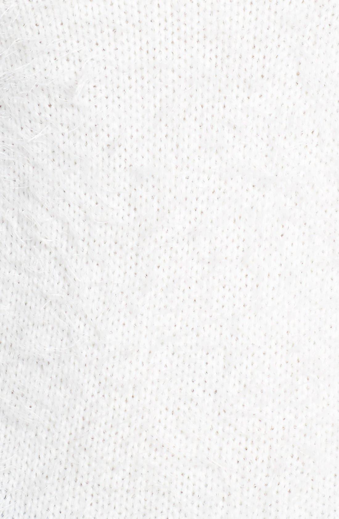 Alternate Image 3  - Halogen® Eyelash Knit Crewneck Sweater