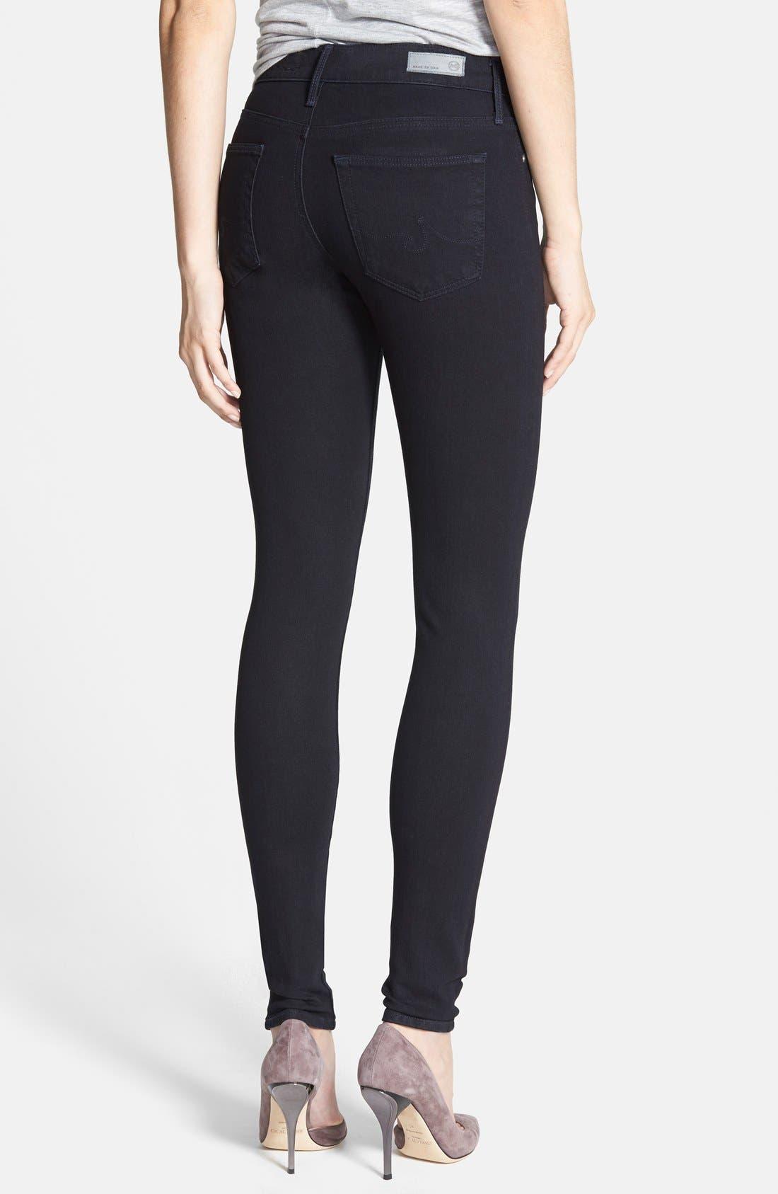 Alternate Image 2  - AG Contour 360 - Farrah High Waist Skinny Jeans