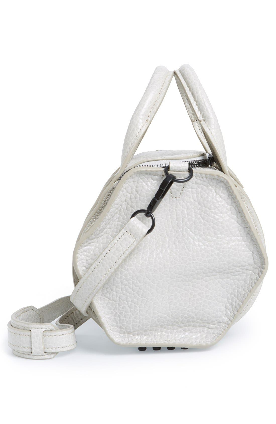 Alternate Image 4  - Alexander Wang 'Rockie - Inside Out' Leather Crossbody Satchel