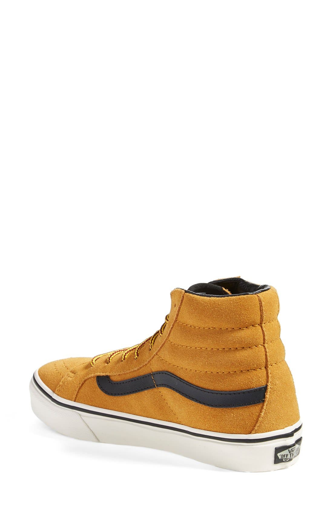 Alternate Image 2  - Vans 'Sk8-Hi Slim' Suede Sneaker (Women)