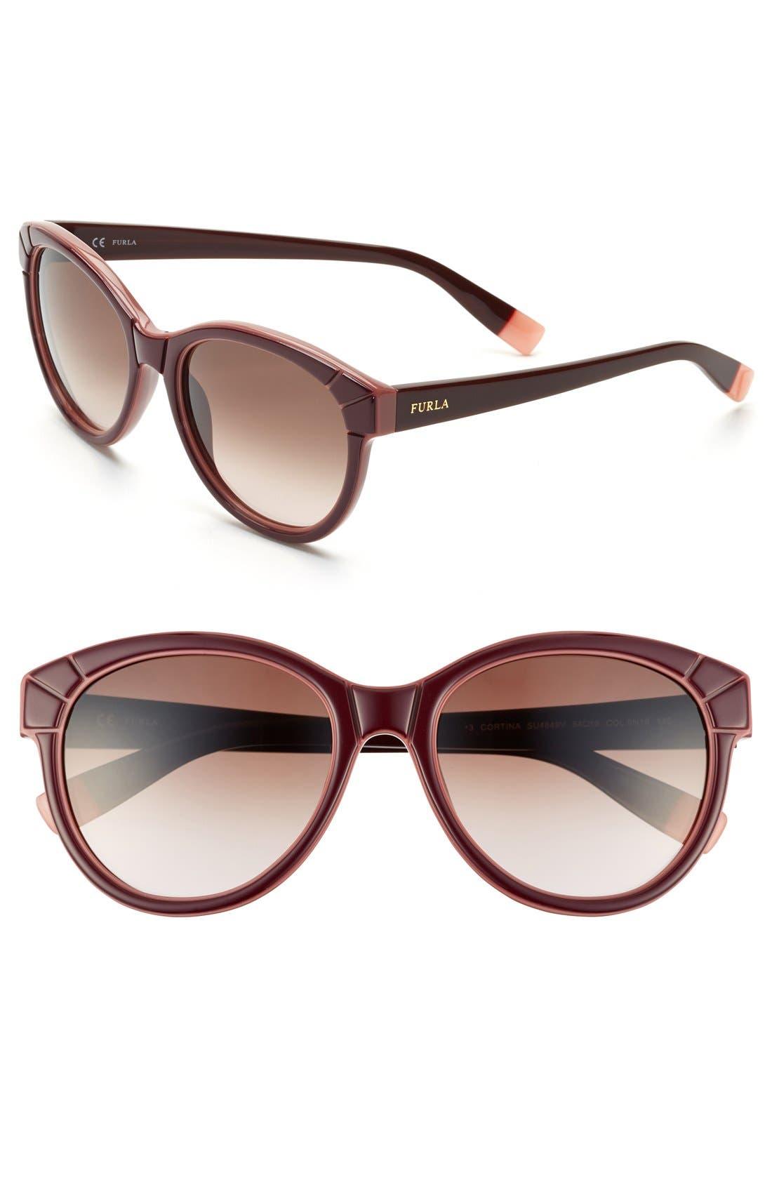 Main Image - Furla 54mm Sunglasses