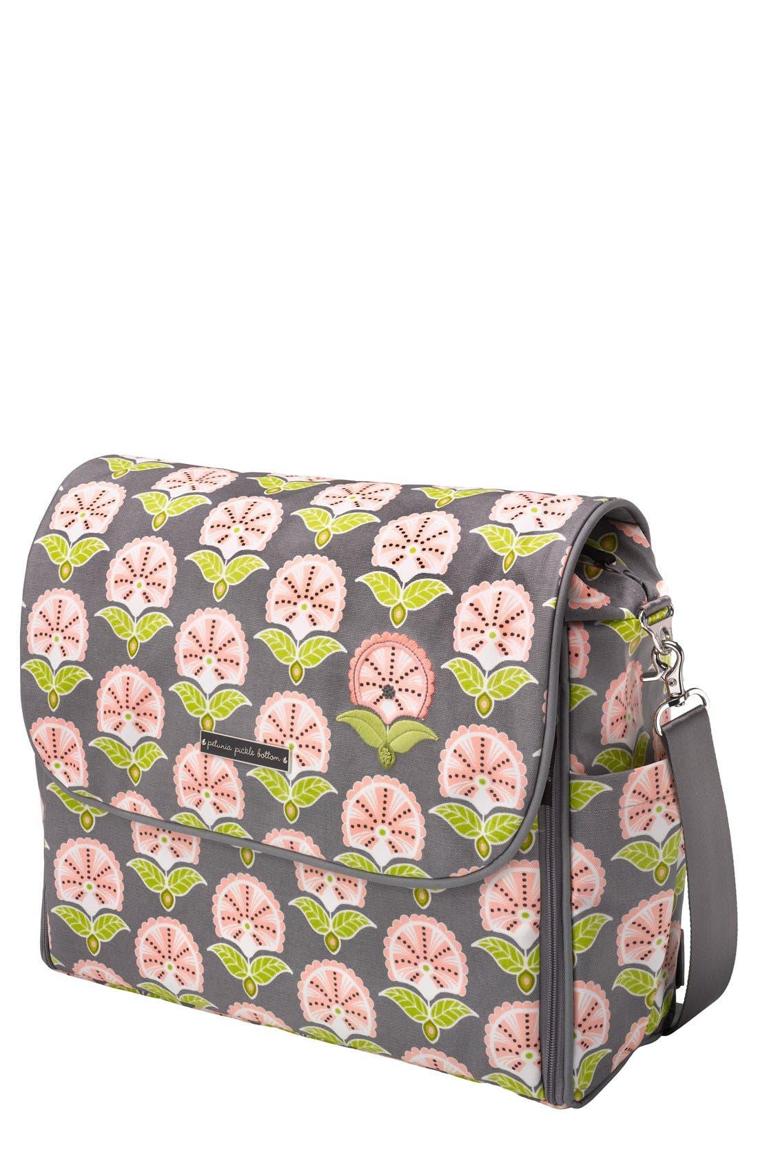 Main Image - Petunia Pickle Bottom 'Glazed Abundance' Boxy Diaper Backpack