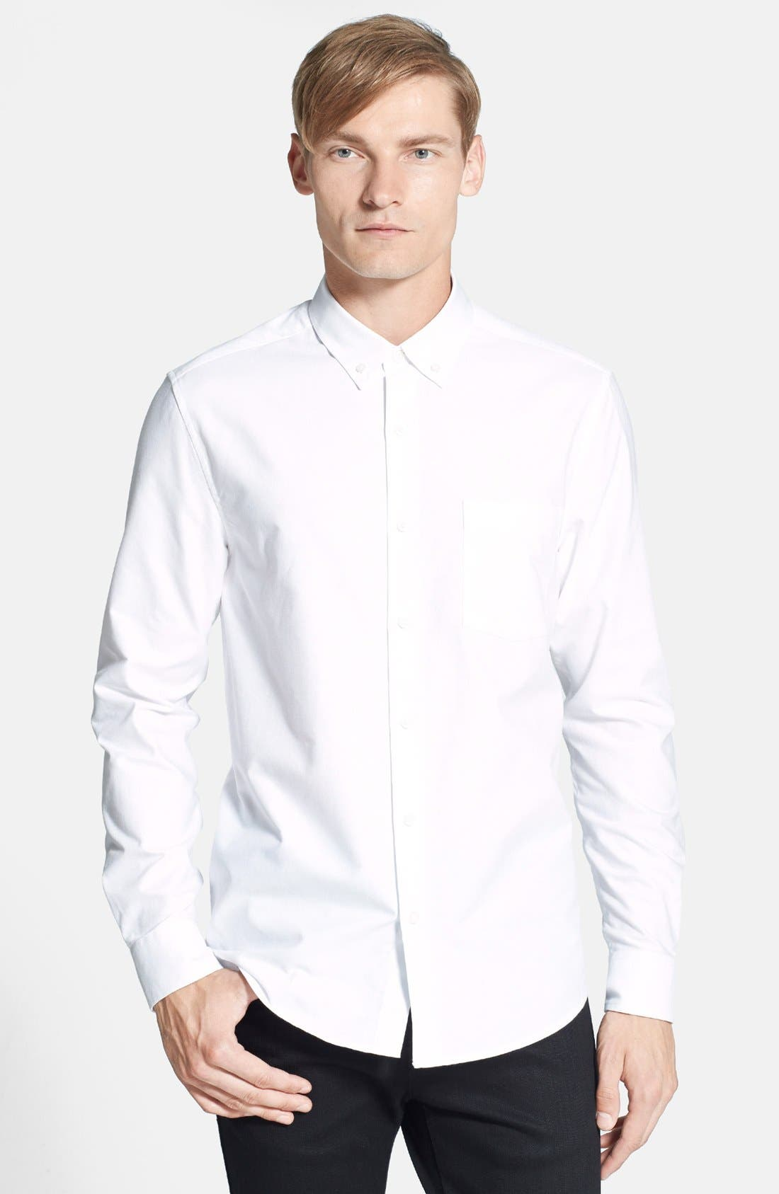Main Image - Topman Oxford Shirt