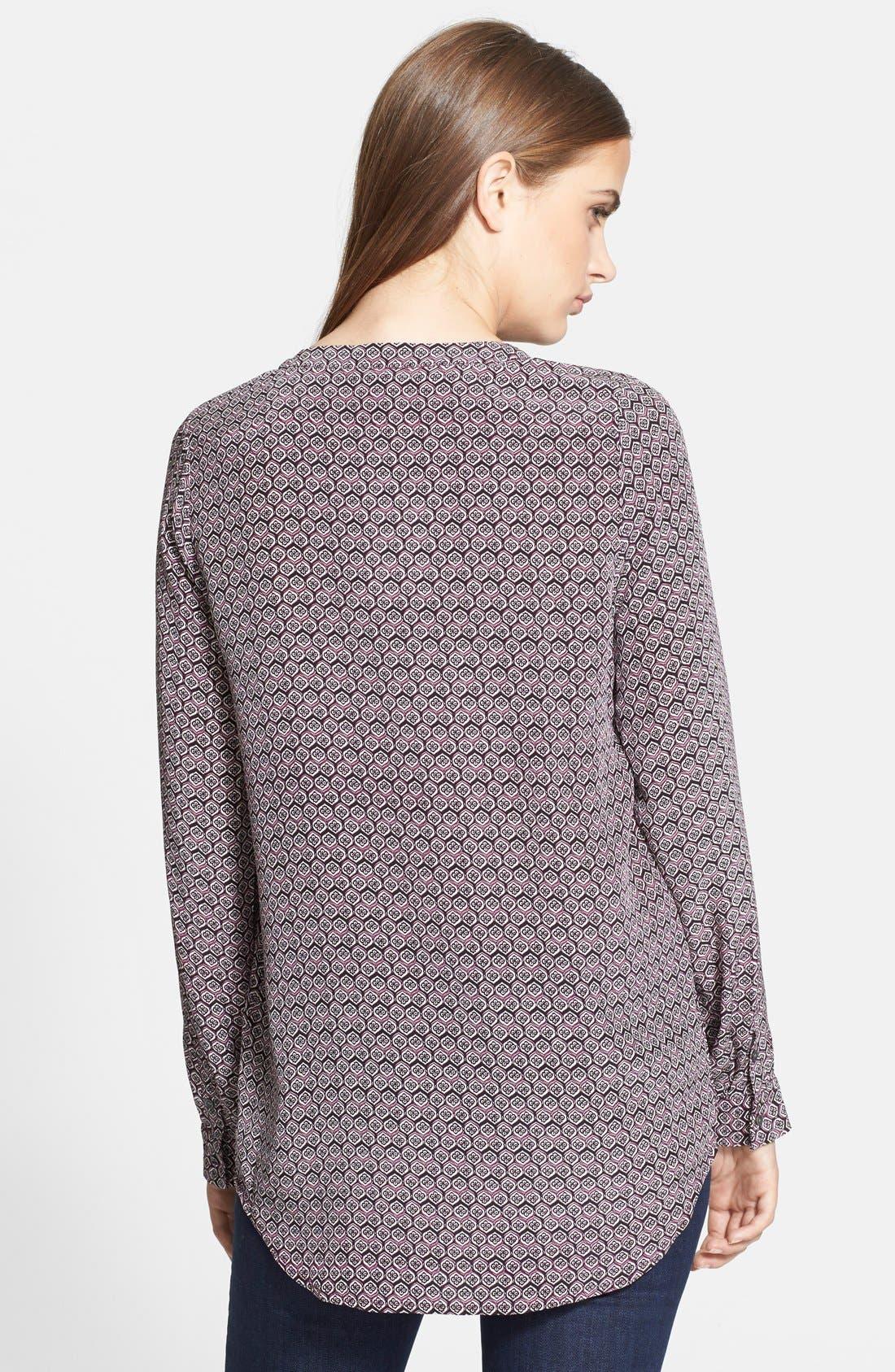 Alternate Image 2  - Joie 'Daryn' Print Silk Top