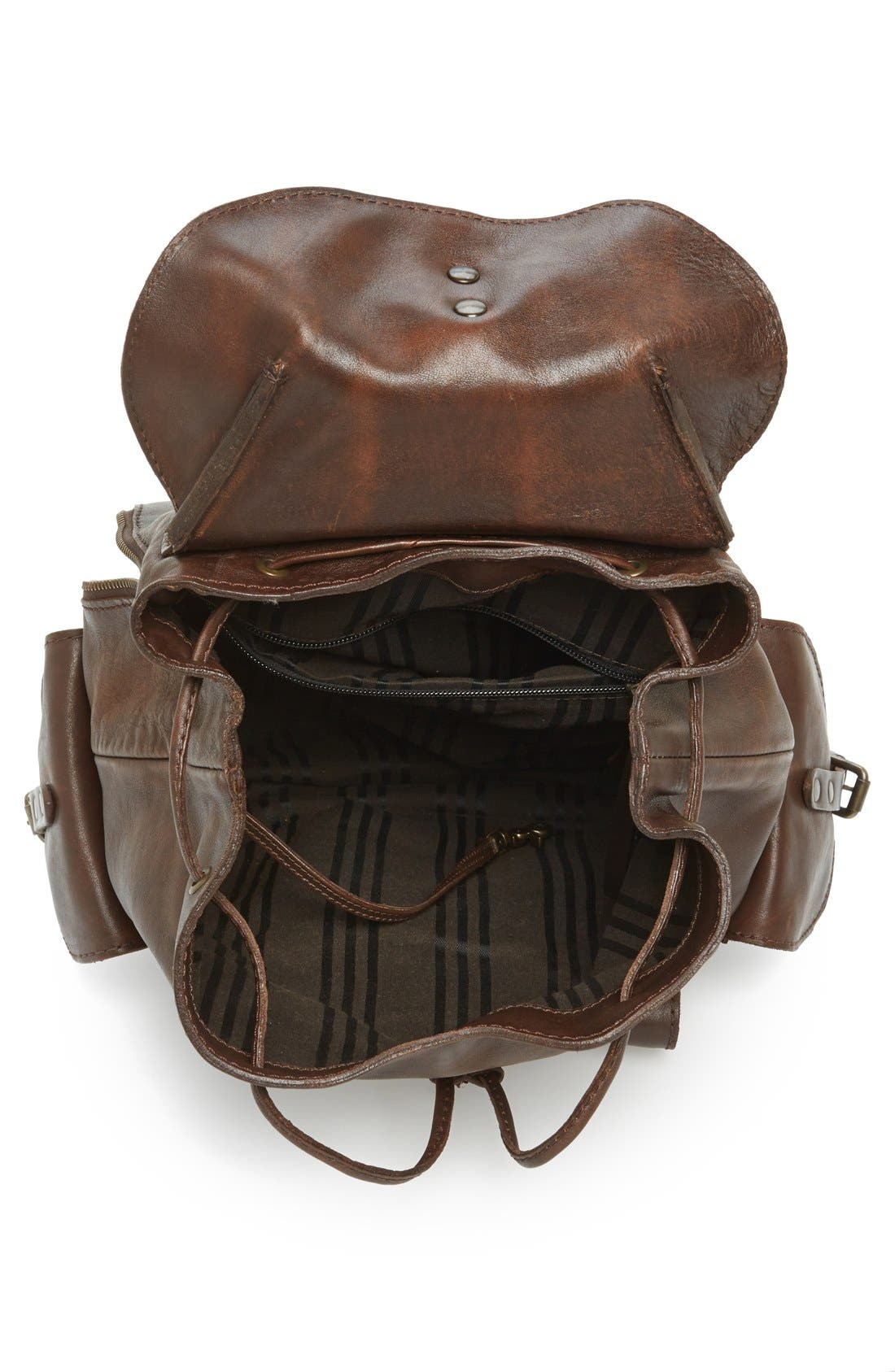 Alternate Image 4  - Frye 'Veronica' Leather Backpack
