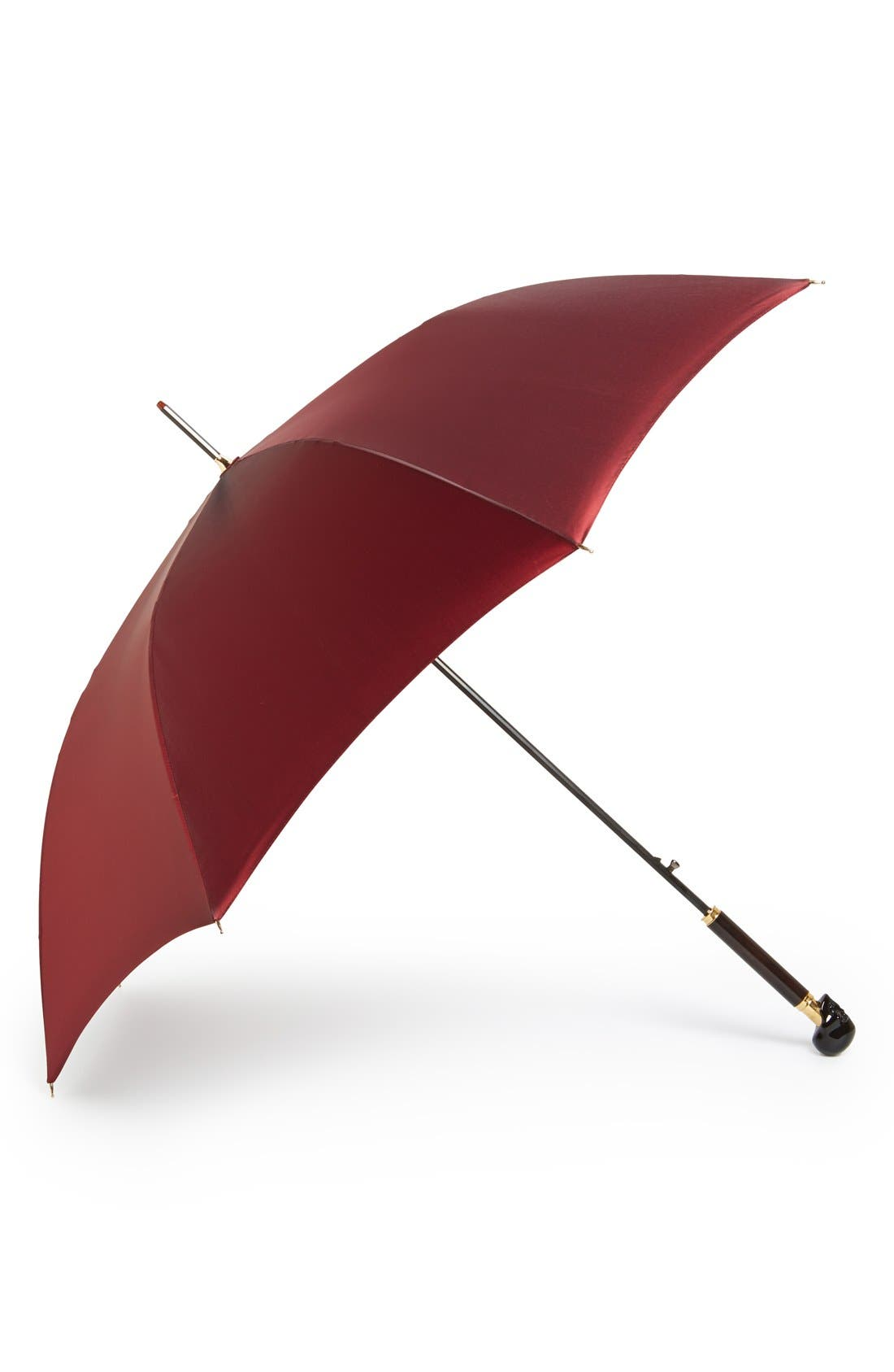 Alternate Image 1 Selected - Alexander McQueen 'Onyx Skull' Umbrella