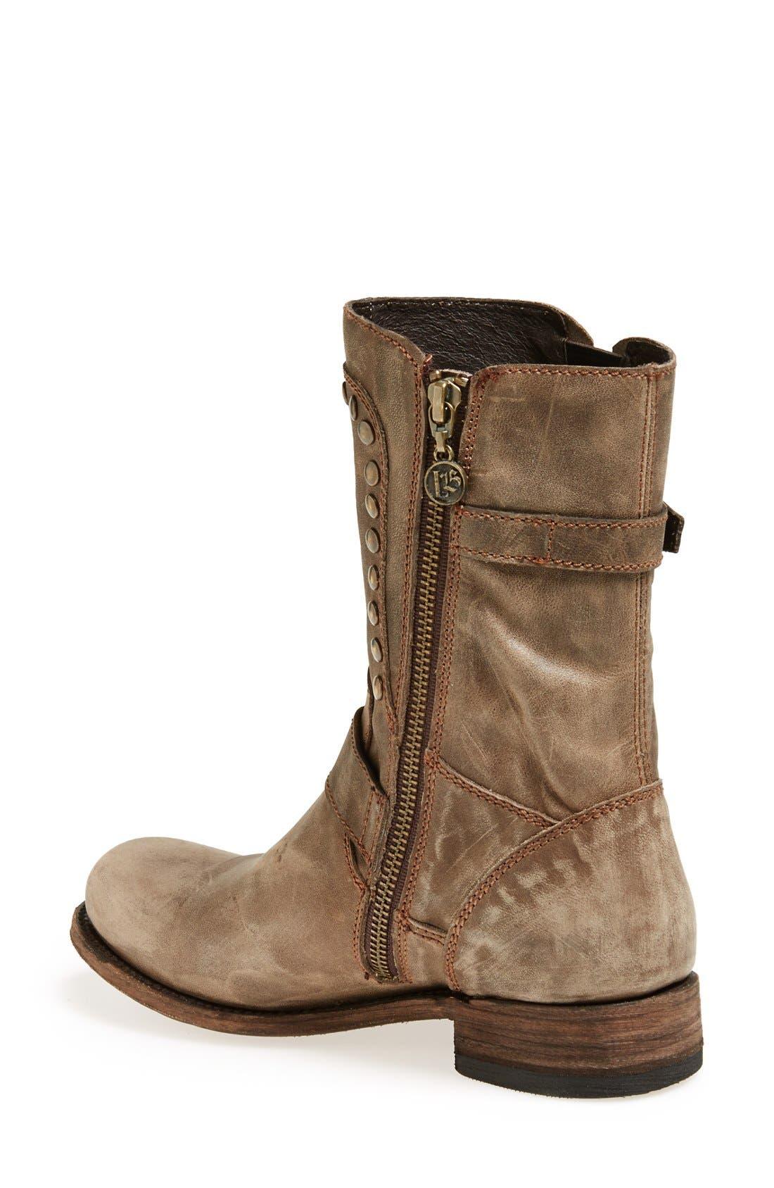 Alternate Image 2  - Liberty Black 'El Paso' Studded Boot (Women)