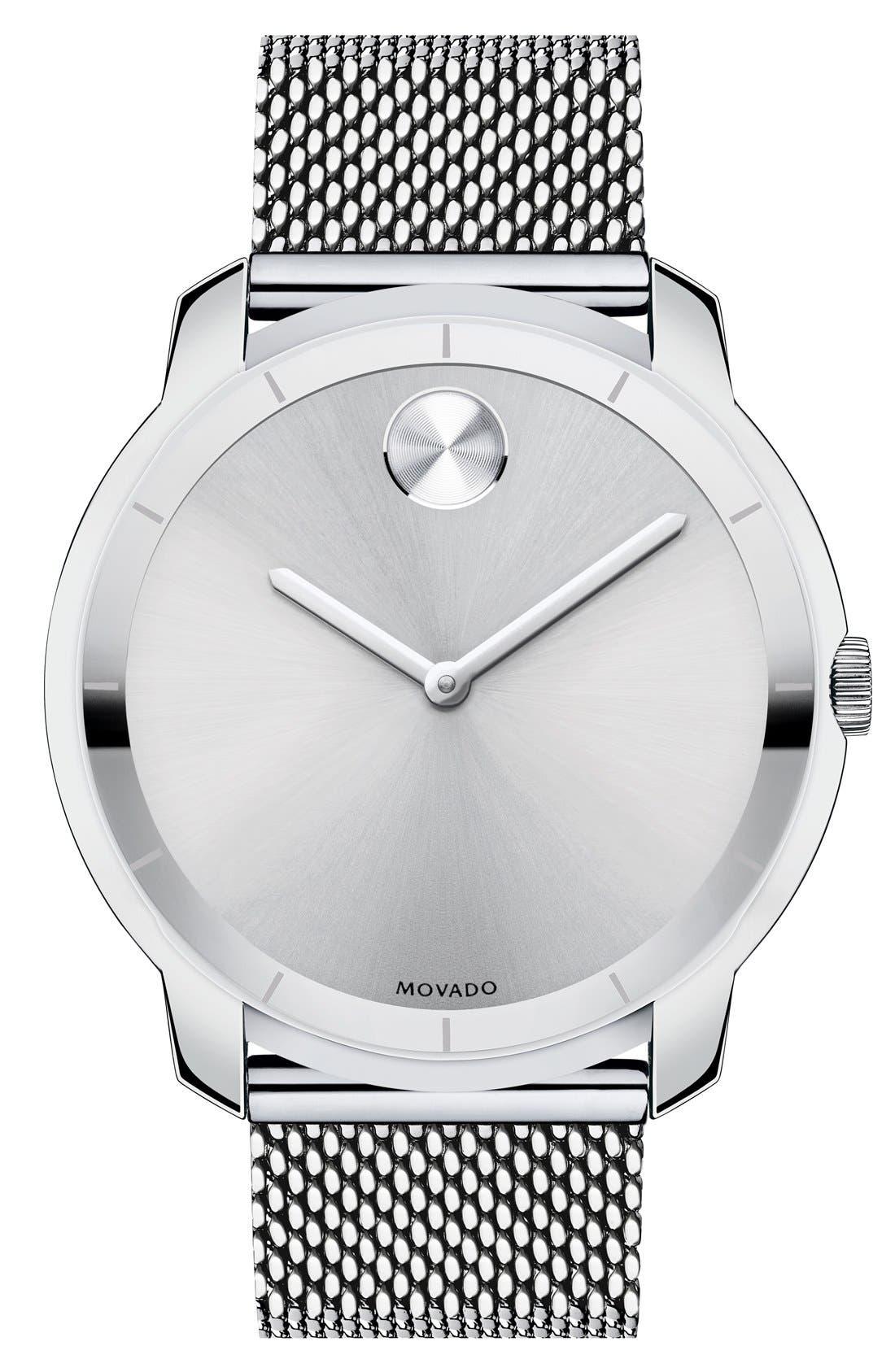 Main Image - Movado 'Bold' Mesh Strap Watch, 44mm