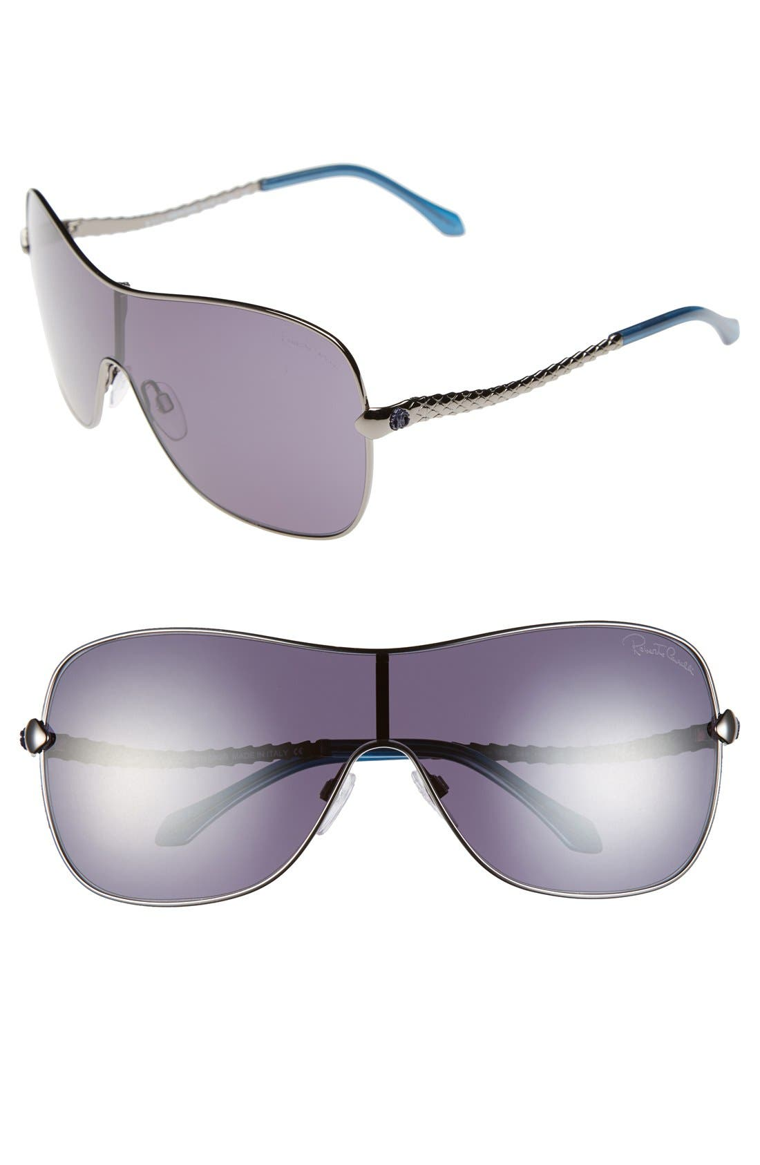 Main Image - Roberto Cavalli 'Agena' Shield Sunglasses