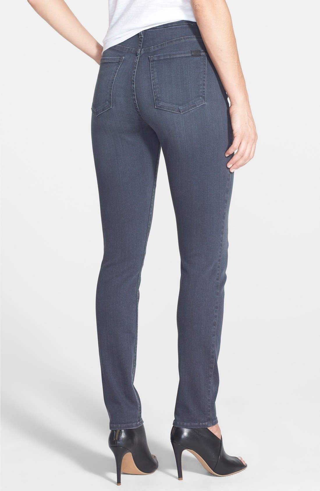 Alternate Image 2  - Jen7 Stretch Skinny Jeans (Clean Grey)