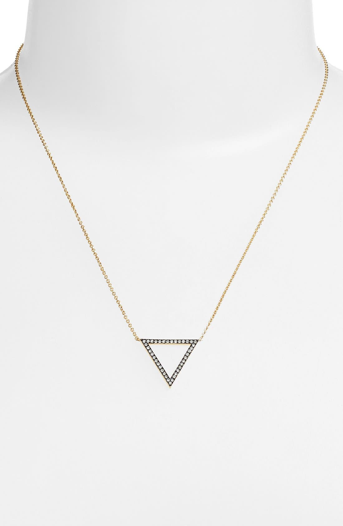 Alternate Image 2  - Nadri Triangle Pendant Necklace