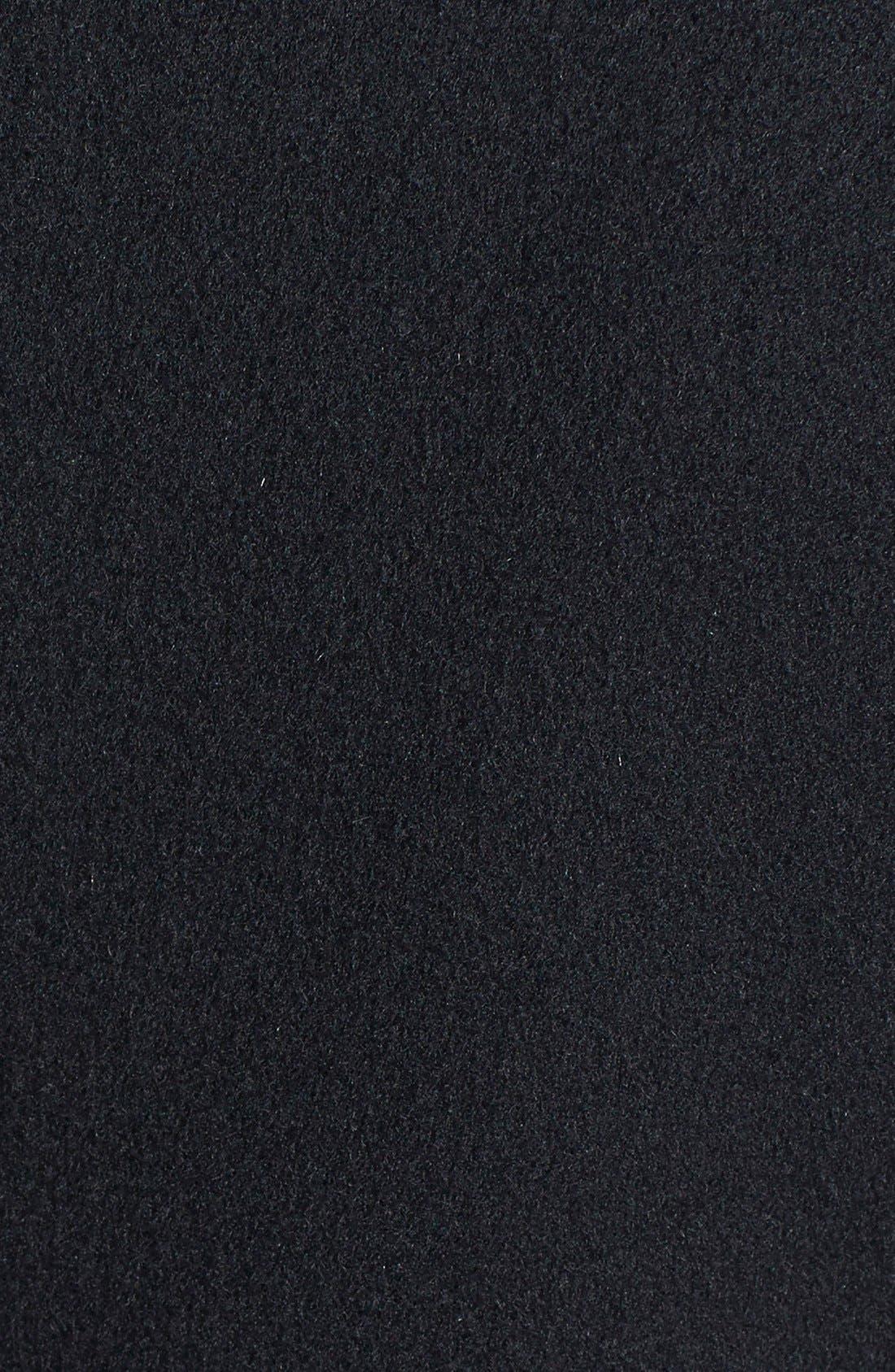 Alternate Image 3  - Fleurette Loro Piana Wool Princess Coat (Petite) (Nordstrom Exclusive)
