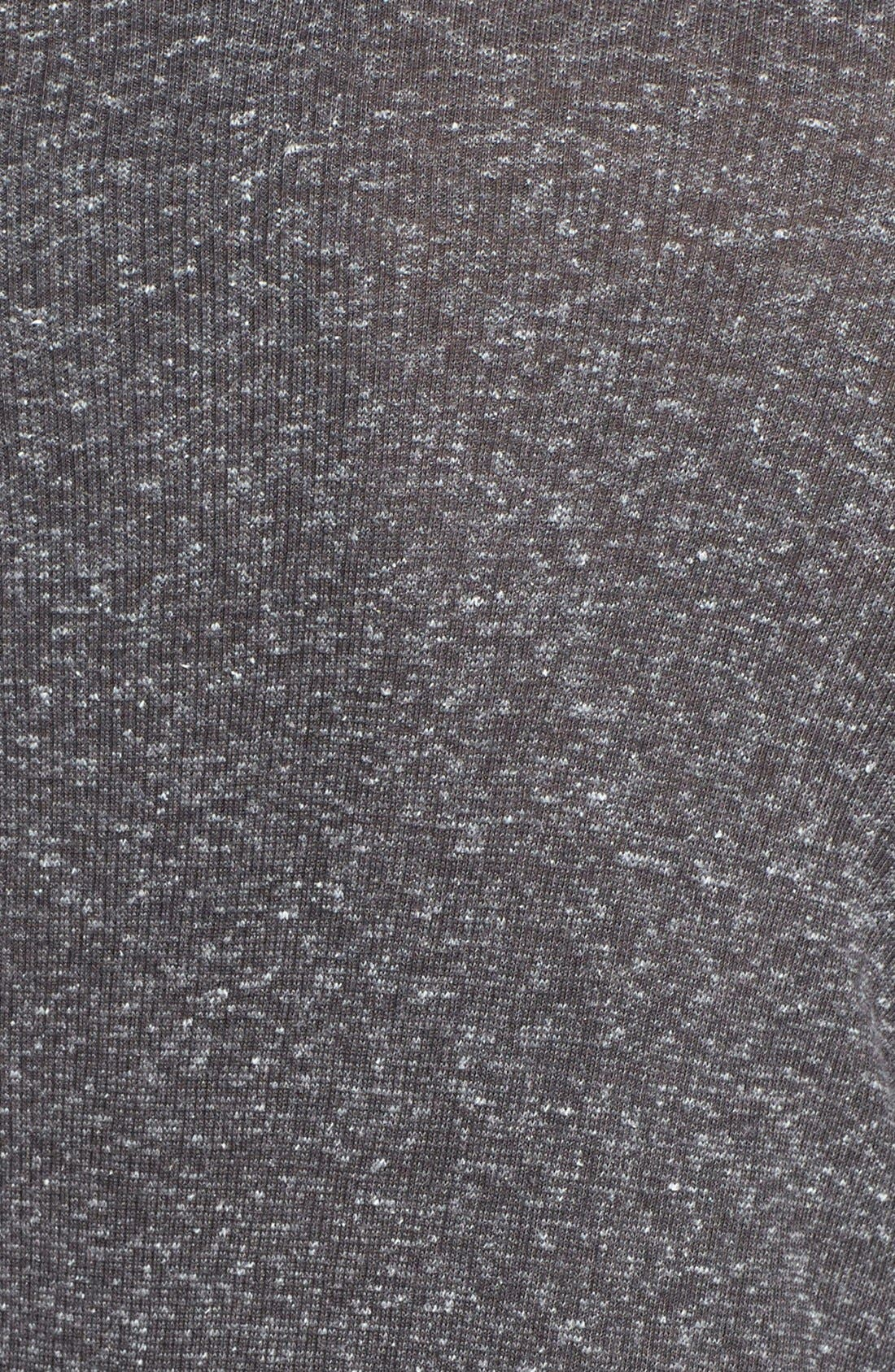 Open Front Cardigan,                             Alternate thumbnail 3, color,                             Charcoal Grey