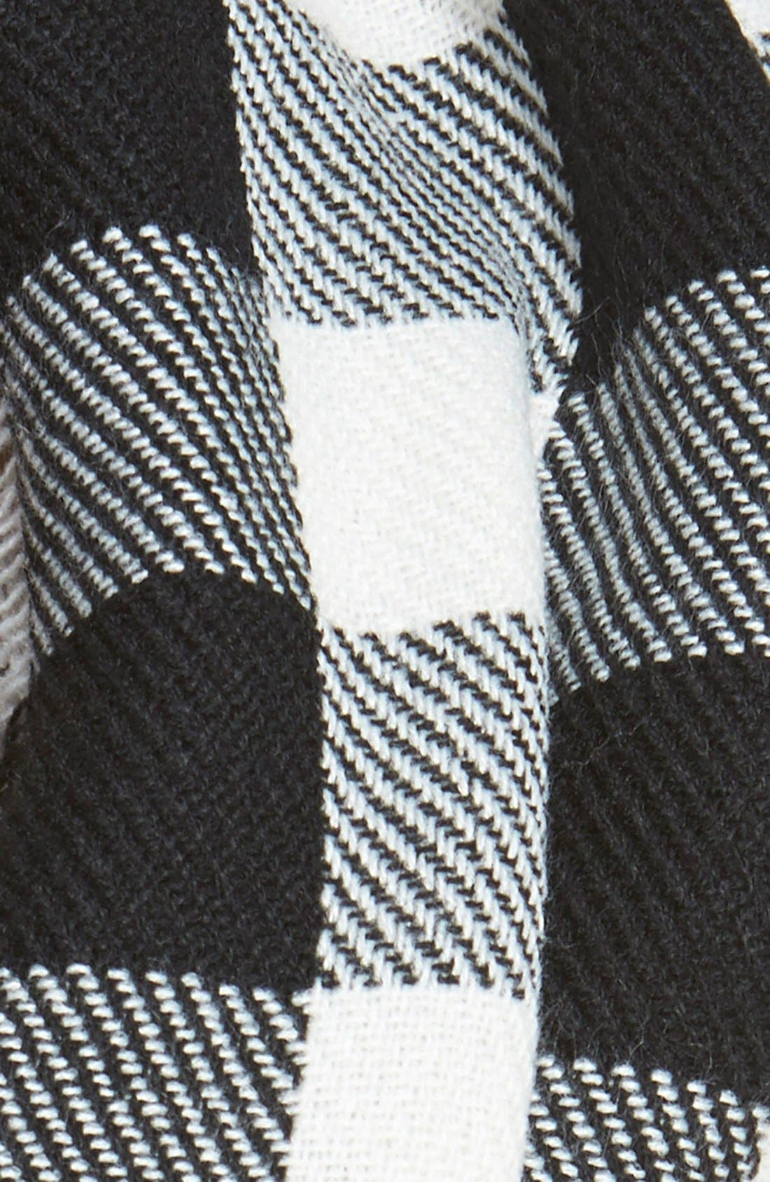 Alternate Image 3  - Steve Madden Buffalo Plaid Infinity Scarf