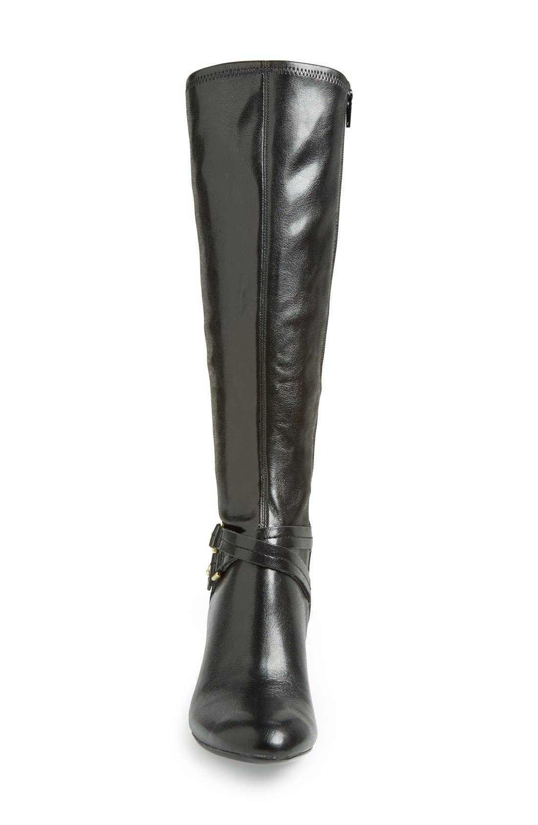 Alternate Image 3  - Naturalizer 'Byron' Knee High Boot (Women)(Wide Calf)