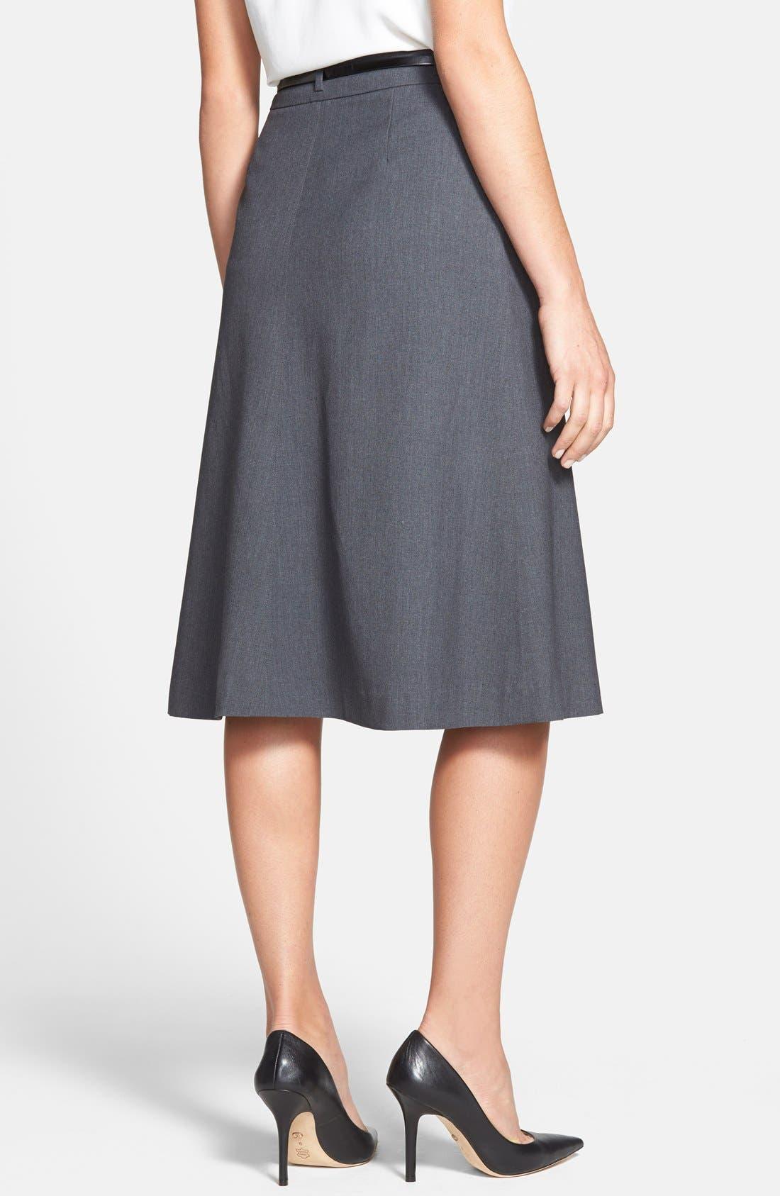 Alternate Image 2  - Jones New York 'Isabel' Belted Boot Skirt