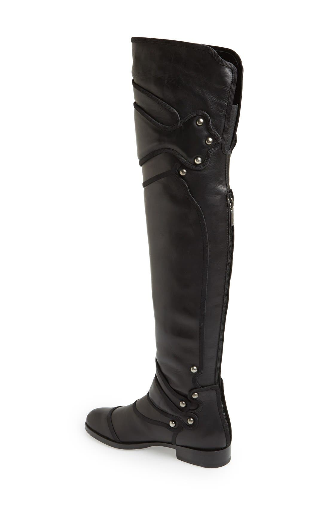 Alternate Image 2  - Dolce&Gabbana Over the Knee Boot (Women)