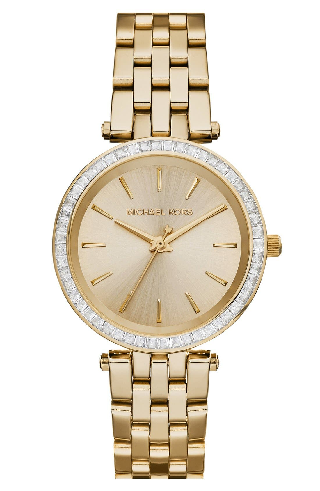 Main Image - Michael Kors 'Mini Darci' Round Bracelet Watch, 33mm