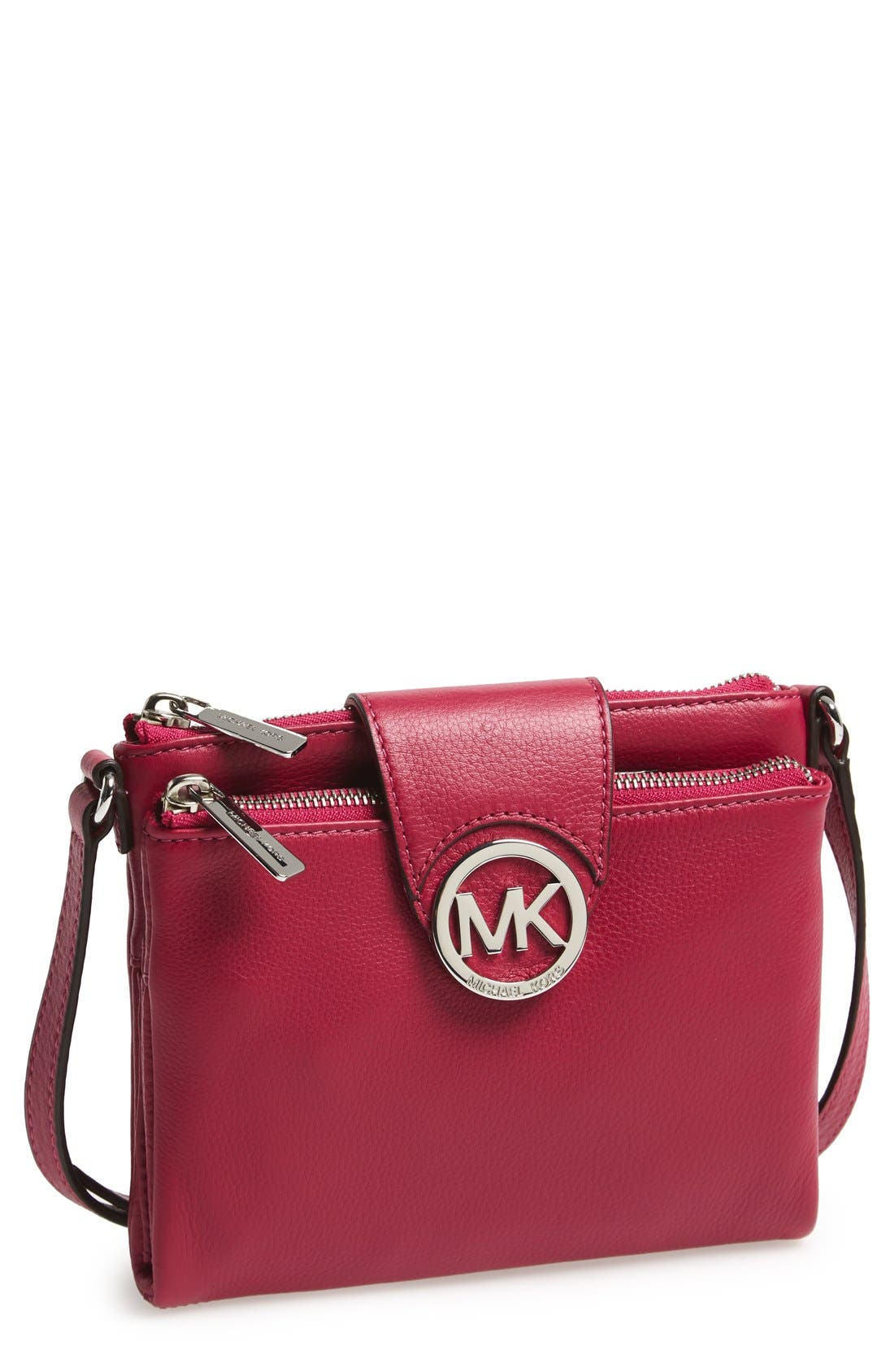 Alternate Image 1 Selected - MICHAEL Michael Kors 'Large Fulton' Crossbody Bag