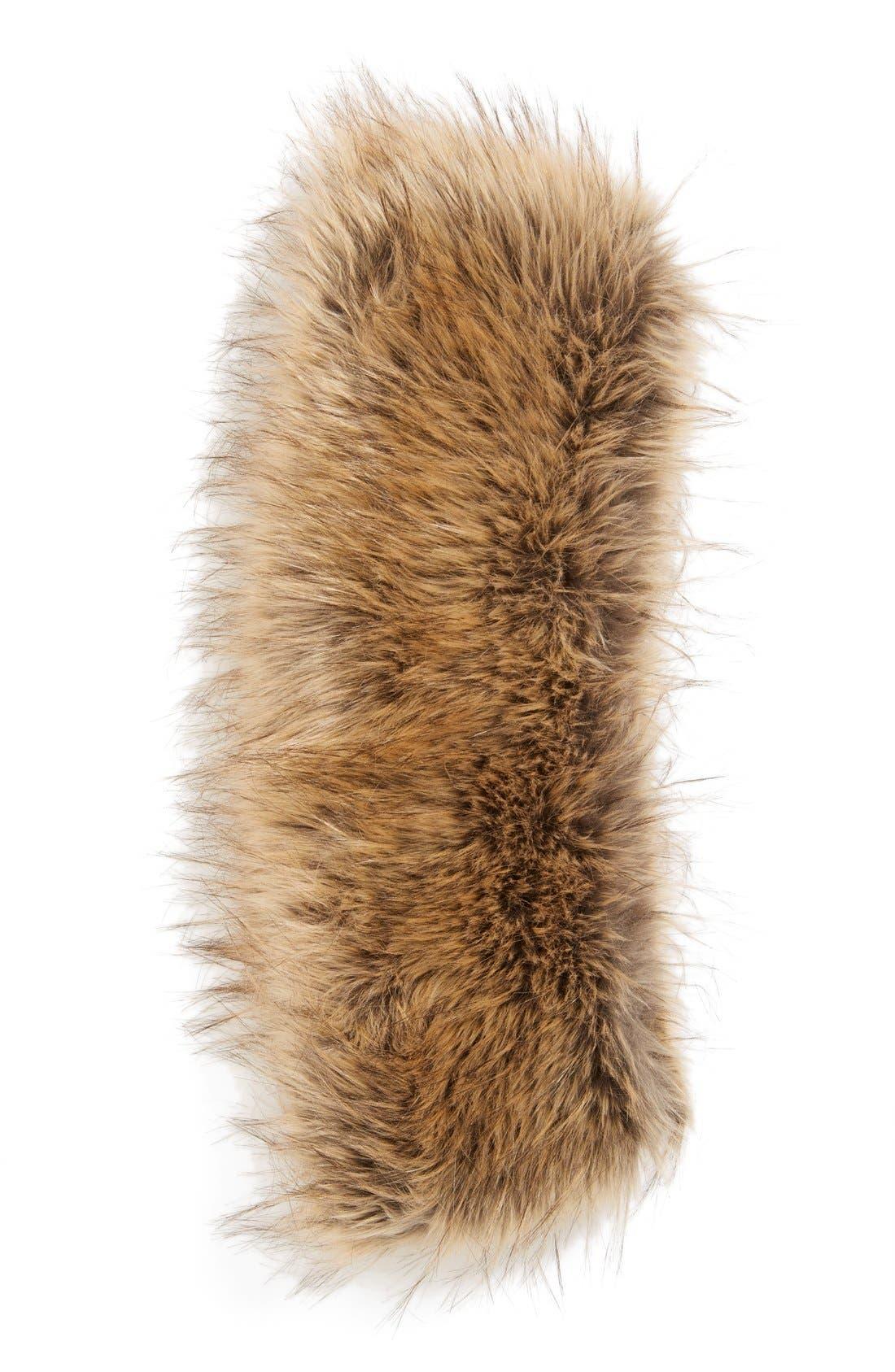 Alternate Image 2  - BP. Faux Fur Infinity Scarf