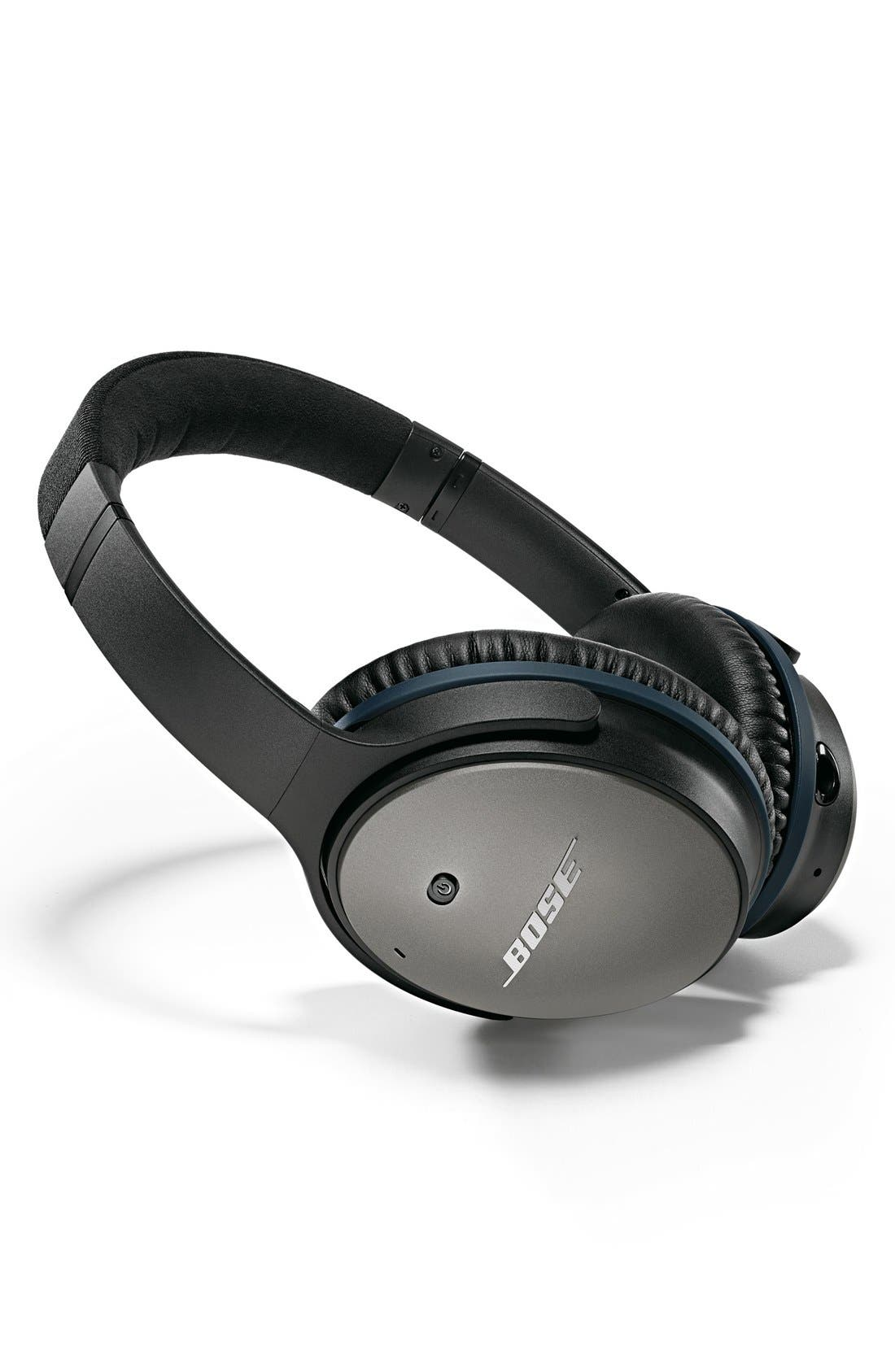 Alternate Image 2  - Bose® QuietComfort® 25 Acoustic Noise Cancelling® iOS Headphones