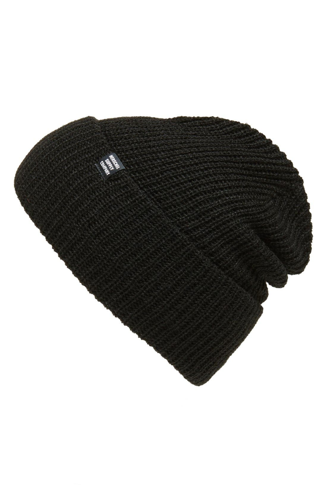 Alternate Image 1 Selected - Herschel Supply Co. 'Quartz' Solid Knit Cap