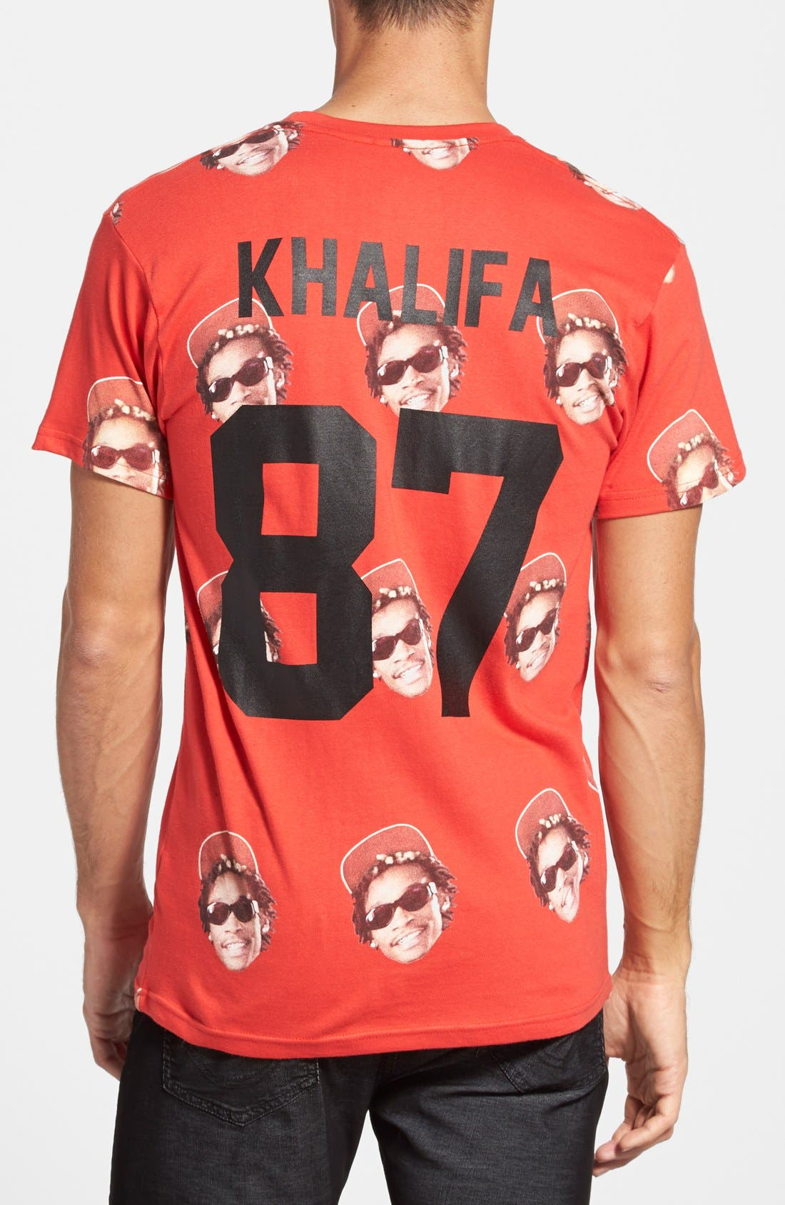 Alternate Image 1 Selected - ELEVENPARIS 'Khalifa' Paisley Print T-Shirt