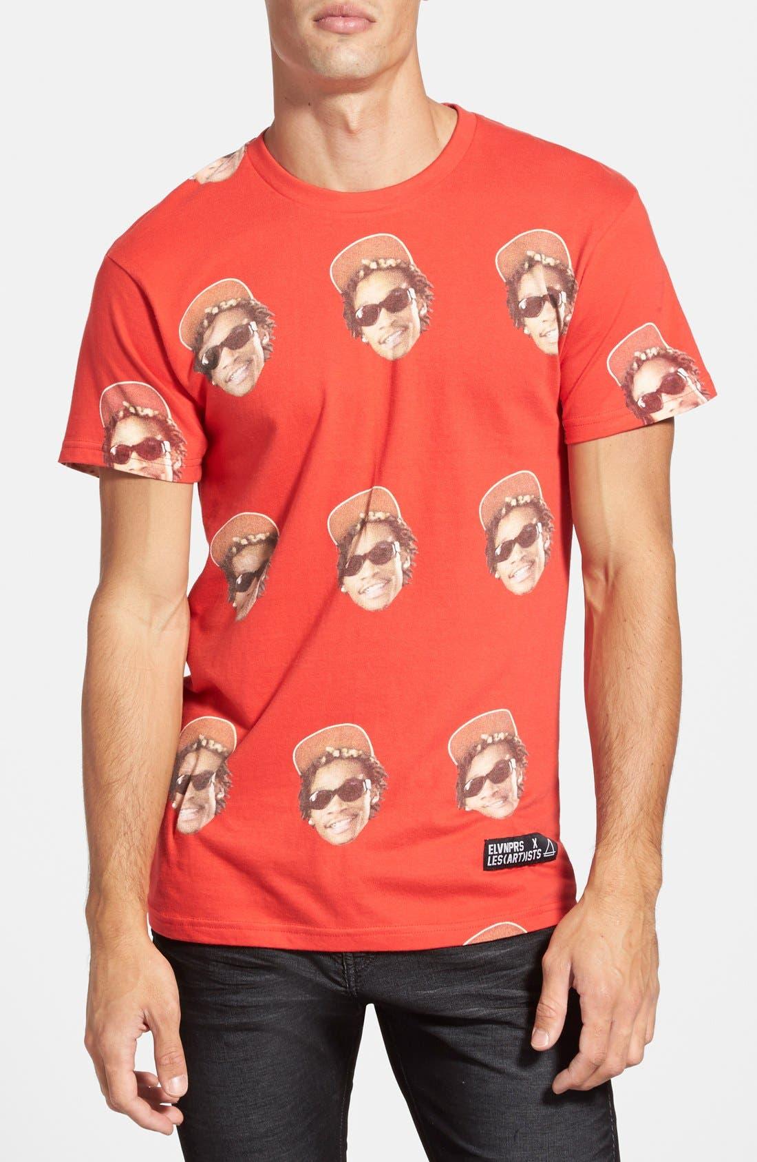Alternate Image 2  - ELEVENPARIS 'Khalifa' Paisley Print T-Shirt