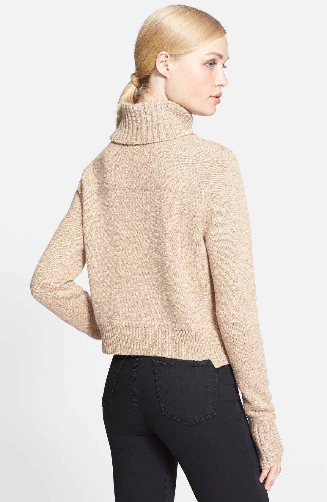 Alternate Image 2  - A.L.C. 'Tevin' Turtleneck Sweater