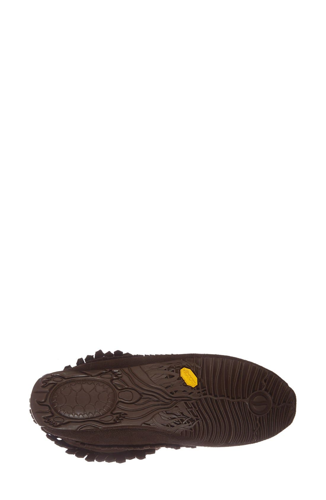 'Harvester' Moccasin,                             Alternate thumbnail 4, color,                             Chocolate