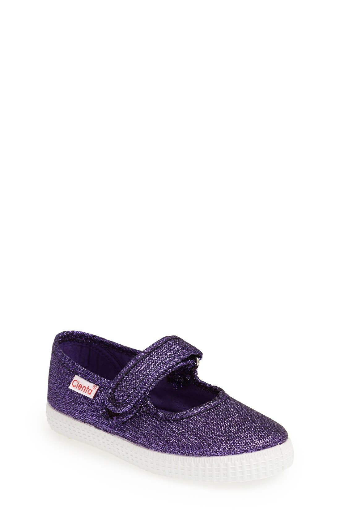 Cienta Glitter Canvas Mary Jane (Walker, Toddler & Little Kid)