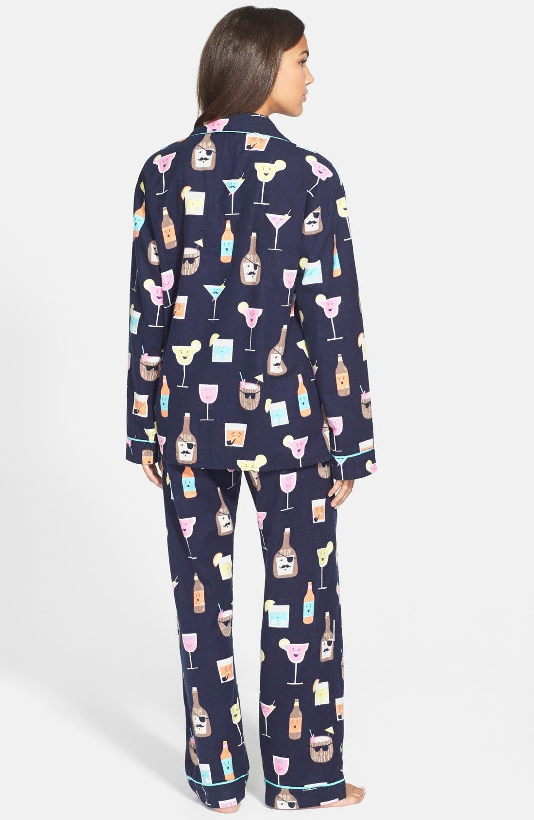 Alternate Image 3  - PJ Salvage 'Fall into Flannel' Pajamas