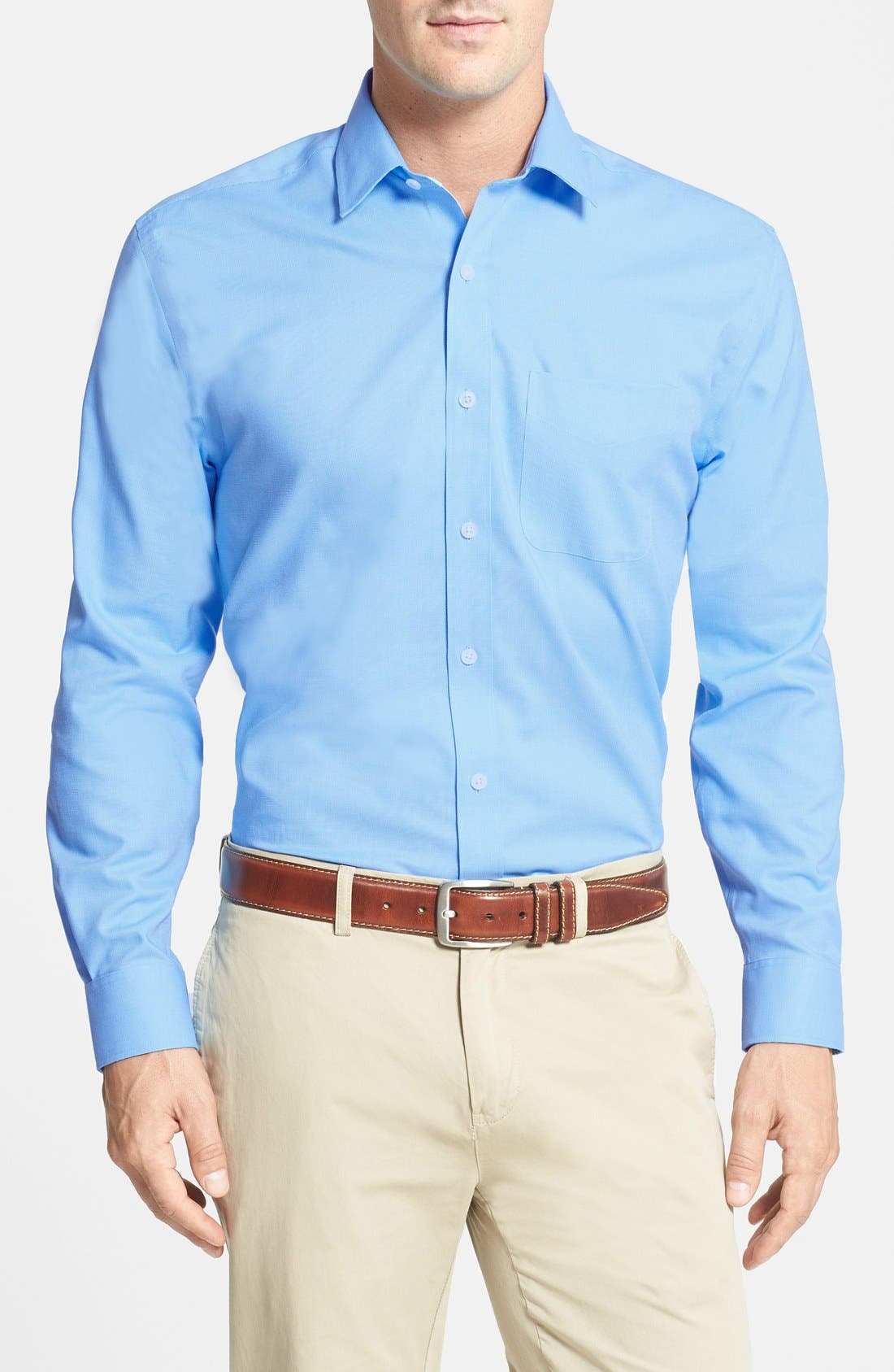 'Epic Easy Care' Classic Fit Wrinkle Free Sport Shirt,                         Main,                         color, Atlas