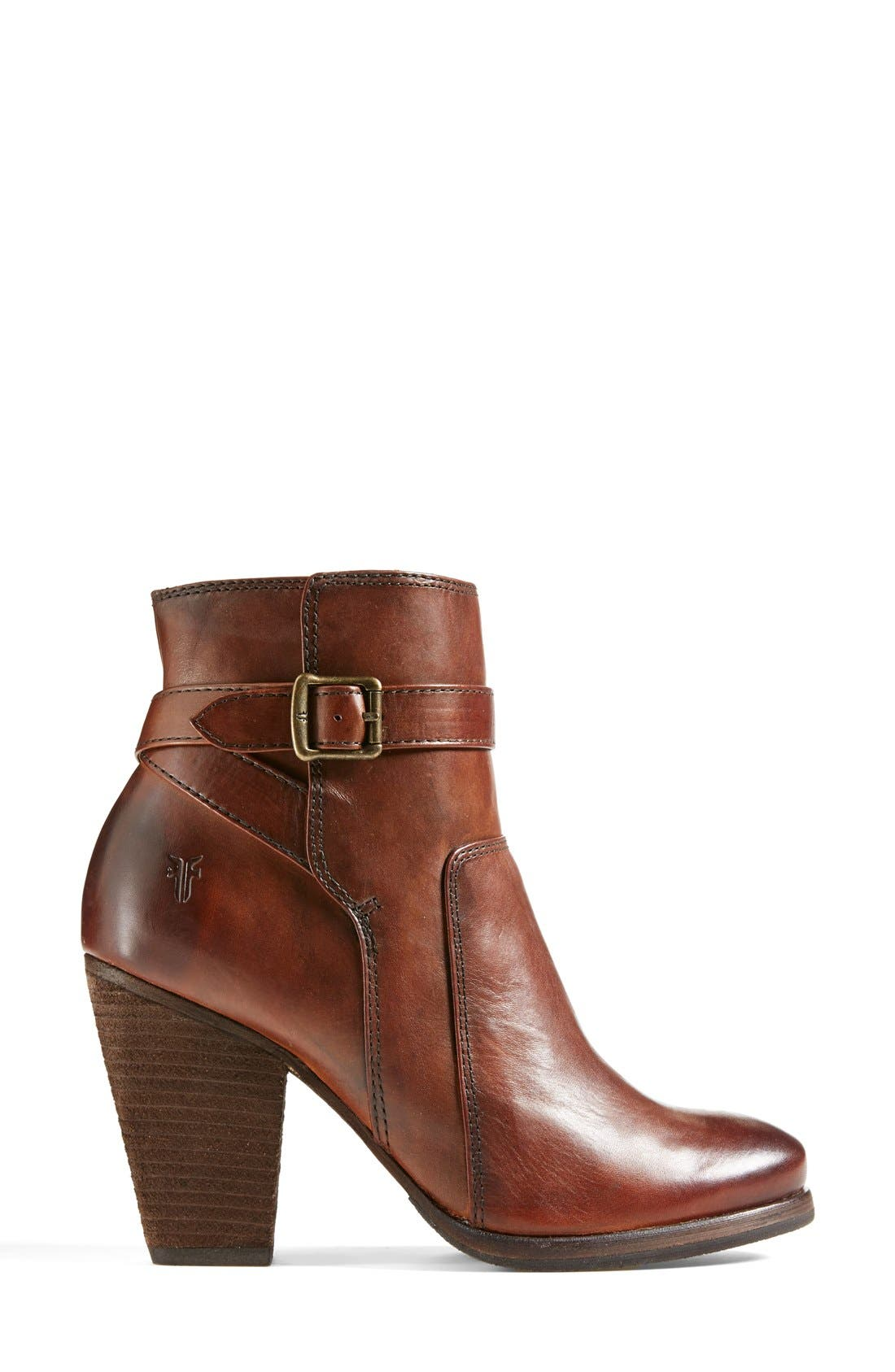 Alternate Image 6  - Frye 'Patty' Leather Riding Bootie (Women)