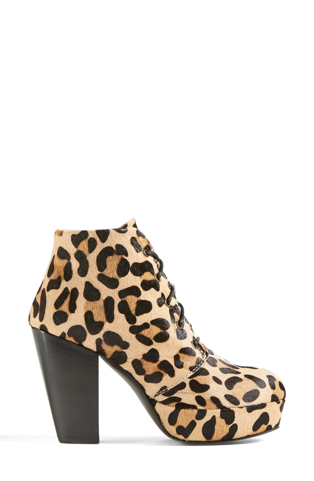 Alternate Image 7  - Steve Madden 'Raspy-L' Genuine Calf Hair Bootie (Women)