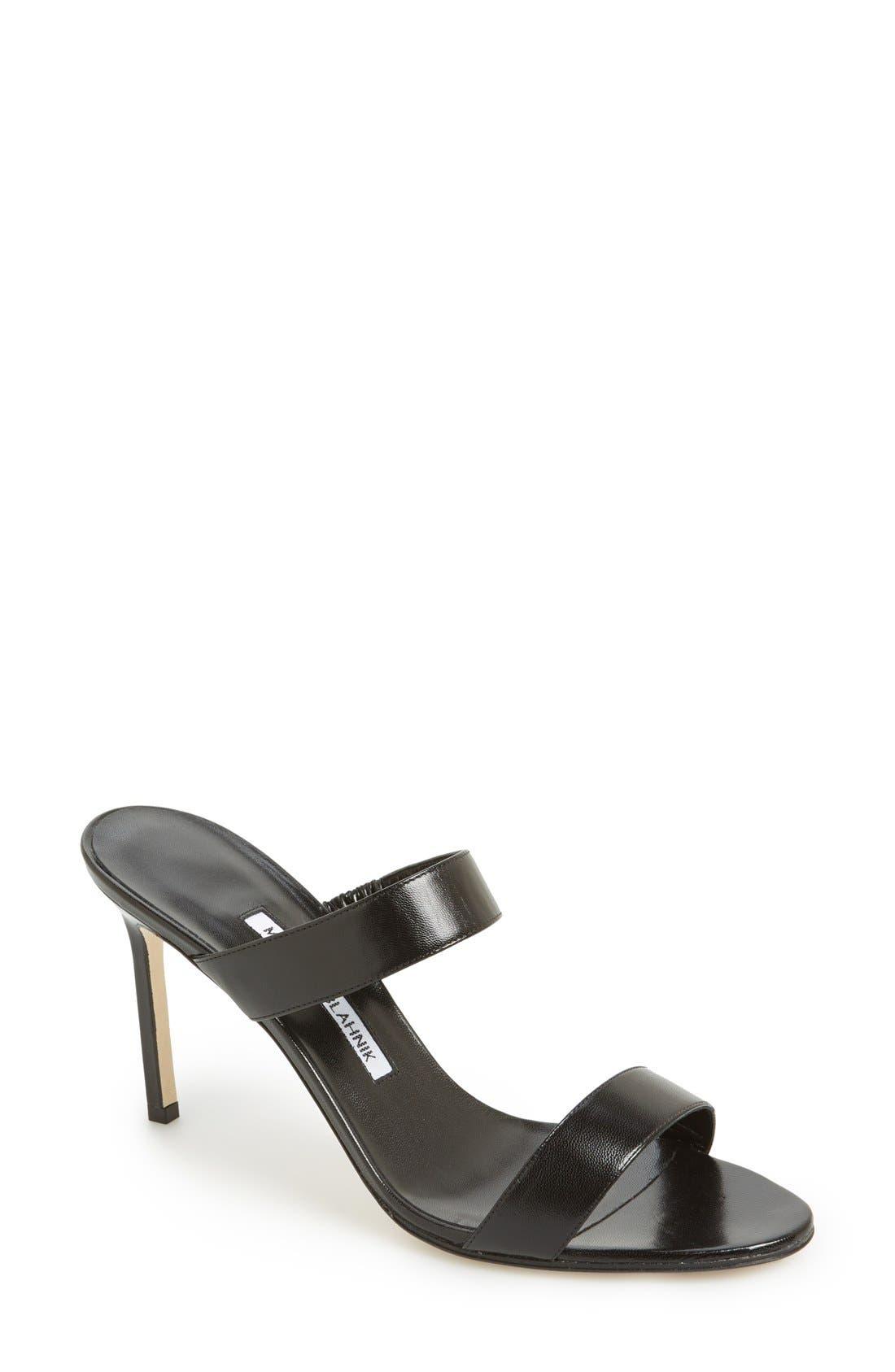 Alternate Image 1 Selected - Manolo Blahnik 'Muluca' Slide Sandal (Women)
