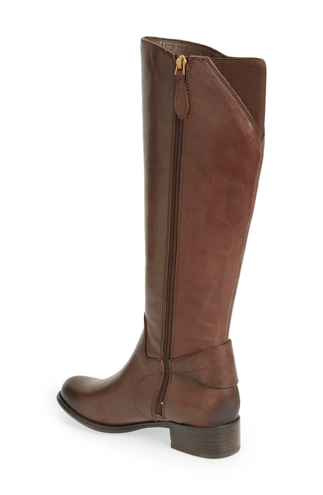 Alternate Image 2  - Franco Sarto 'Craze' Knee High Leather Boot (Women)