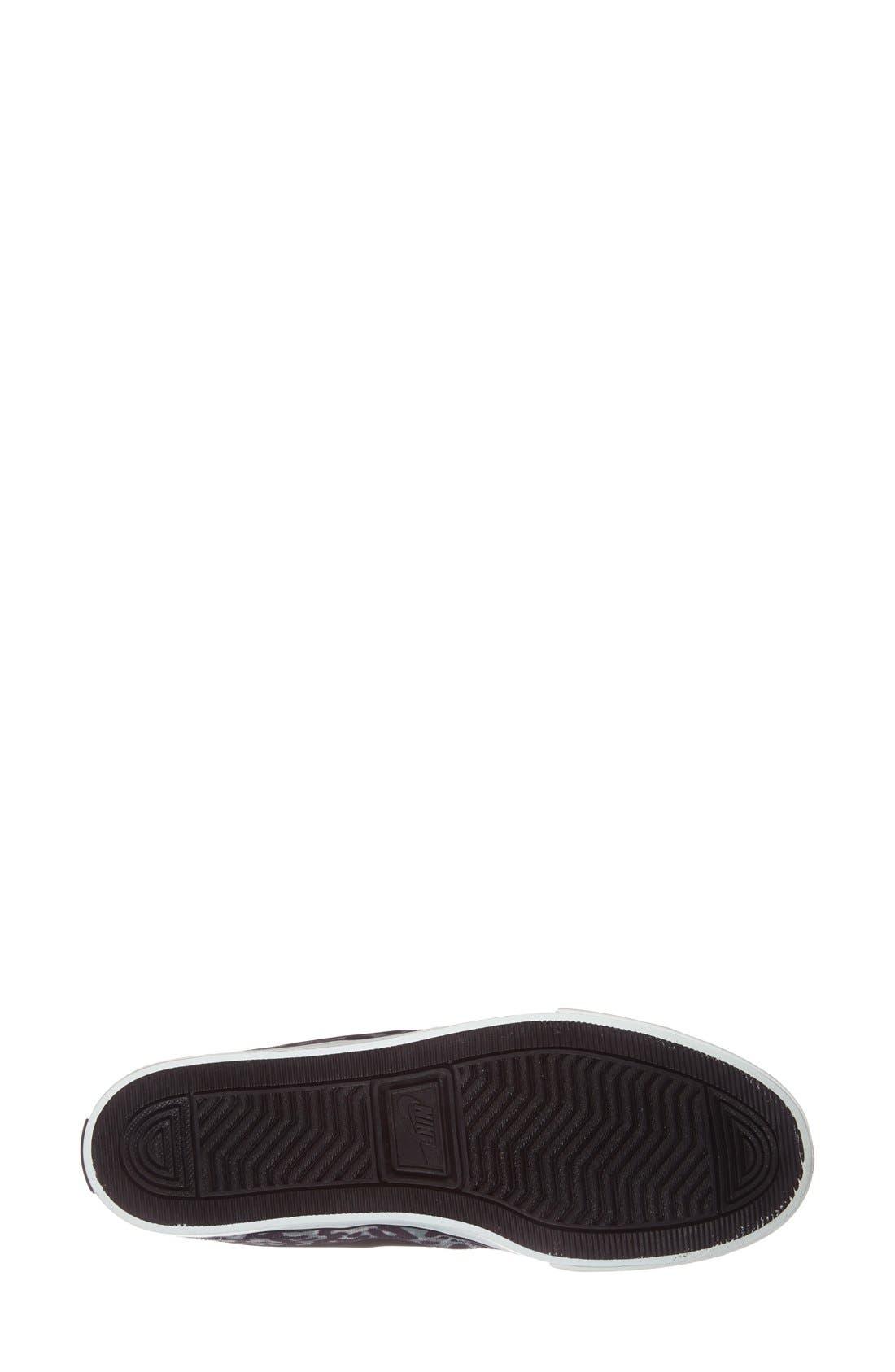 Alternate Image 4  - Nike 'Primo - Court' Printed Canvas Sneaker (Women)