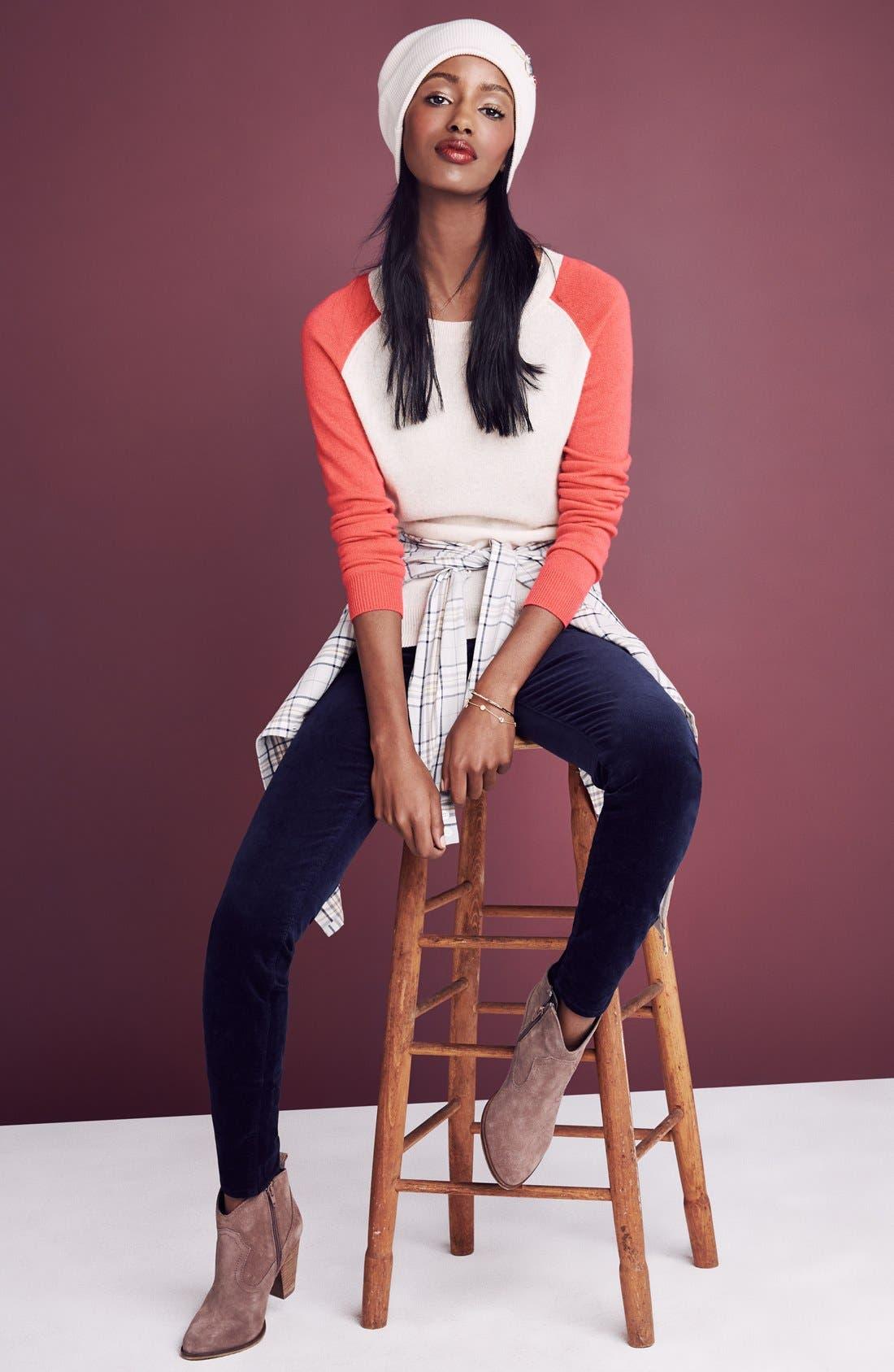 Alternate Image 6  - KUT from the Kloth 'Diana' Skinny Jeans (Breezy)
