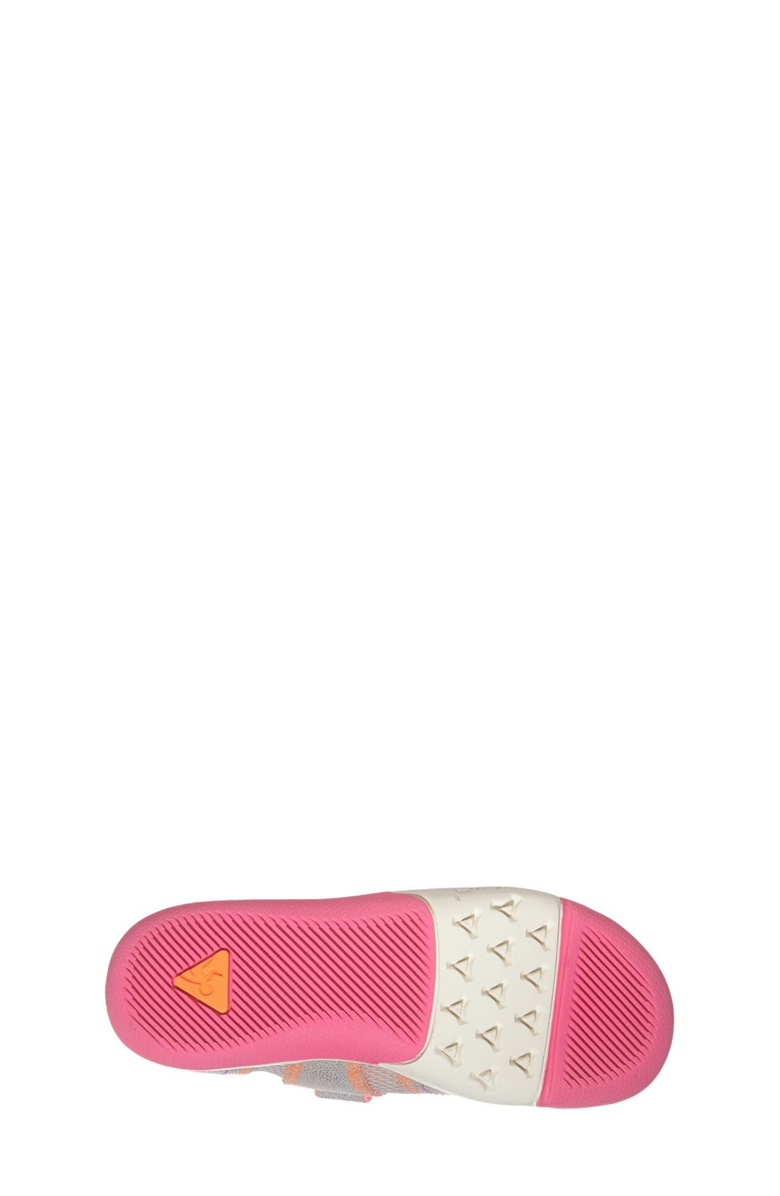 Emme Customizable Mary Jane,                             Alternate thumbnail 4, color,                             Silver/ Pink