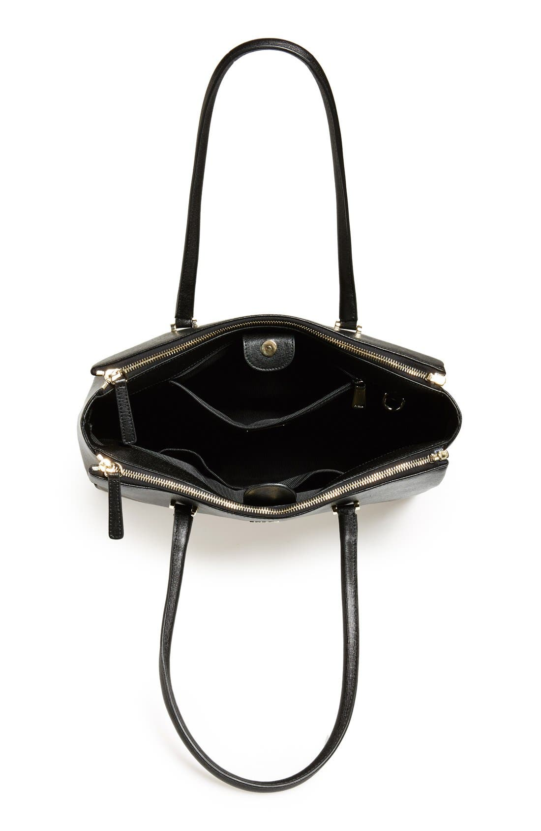 Alternate Image 4  - Furla 'Large Lotus' Saffiano Leather Tote