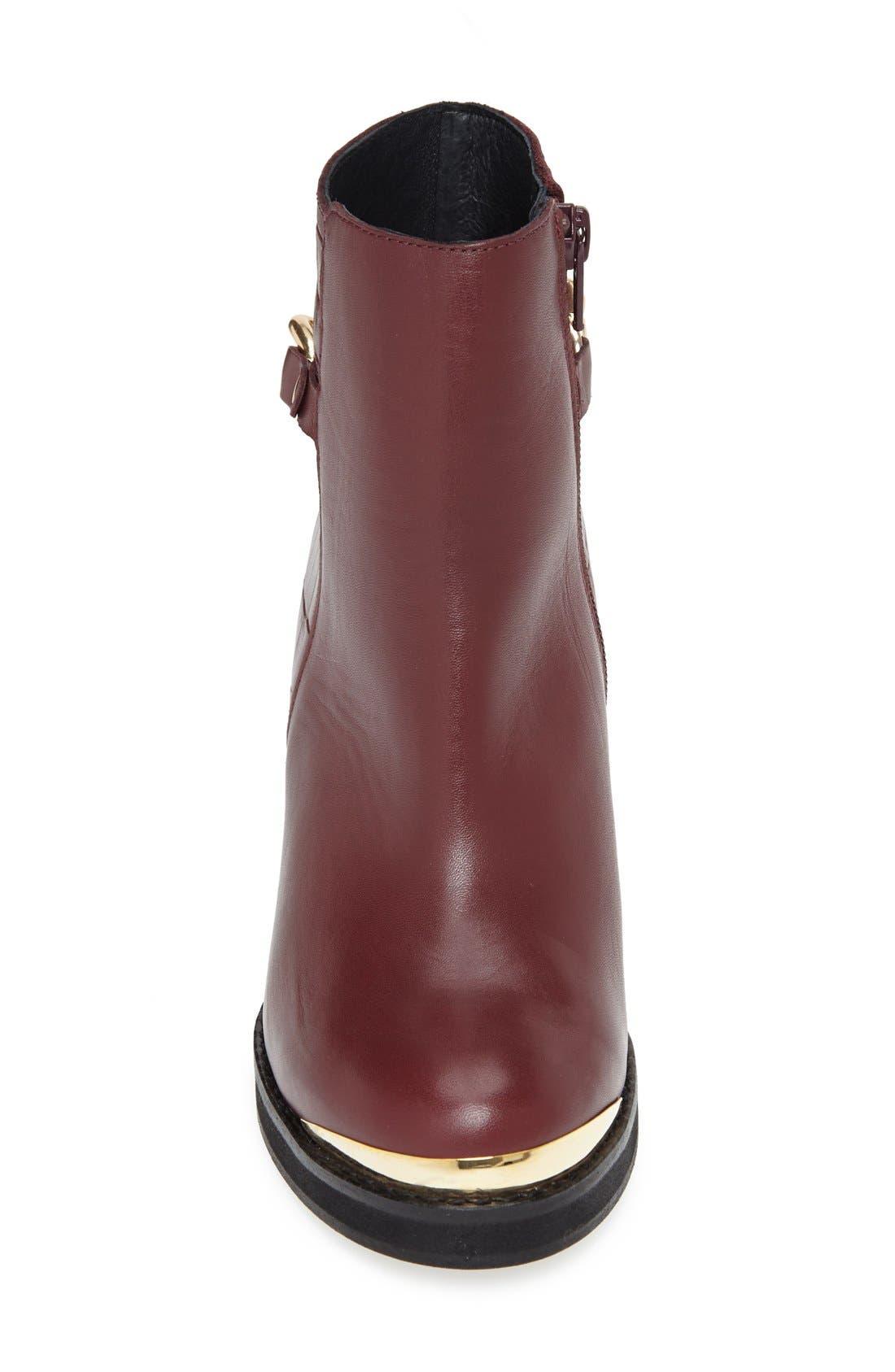 Alternate Image 3  - Topshop 'Merit' Chain Ankle Boot (Women)