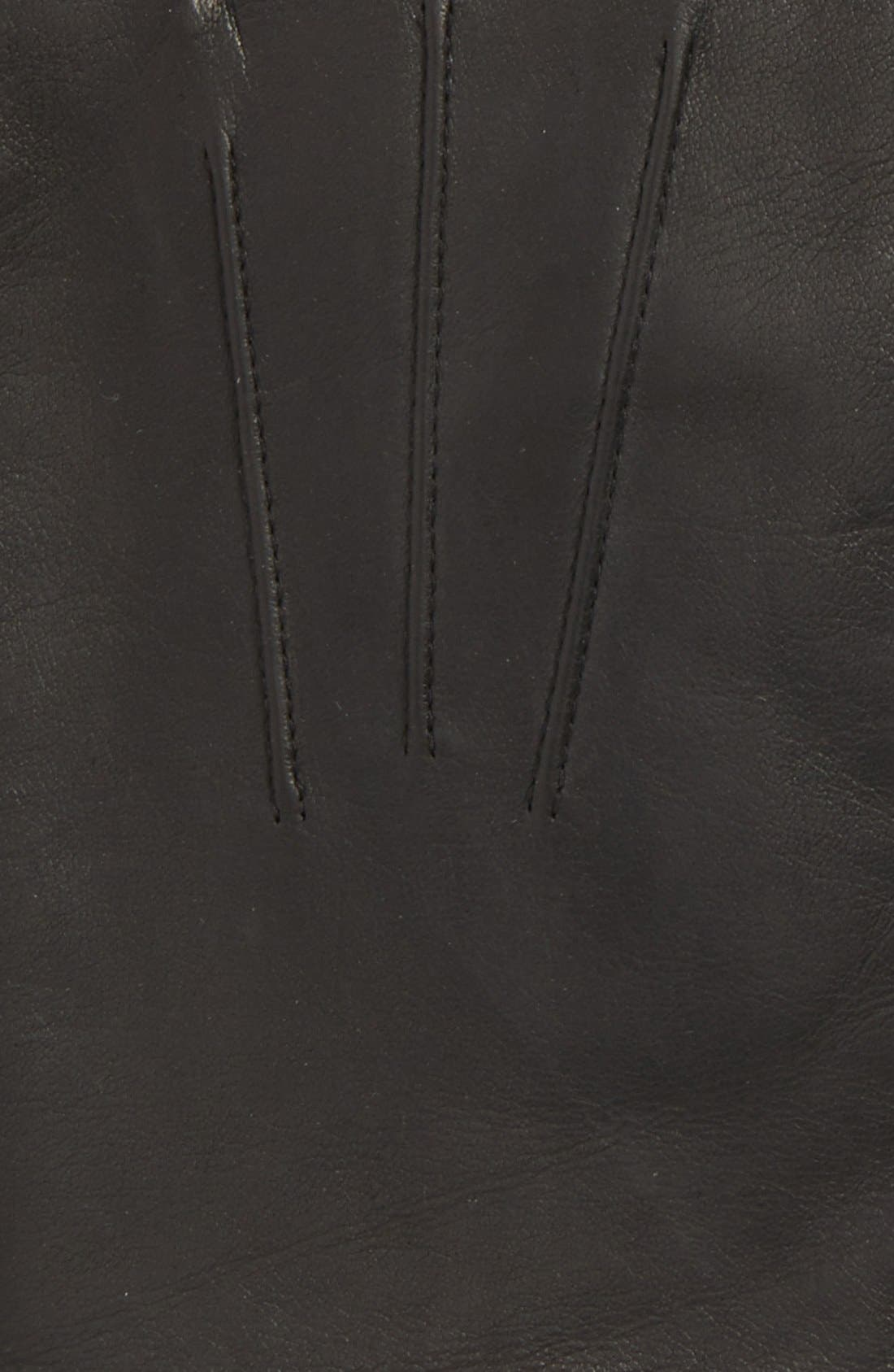 Alternate Image 3  - John W. Nordstrom® Leather Tech Gloves