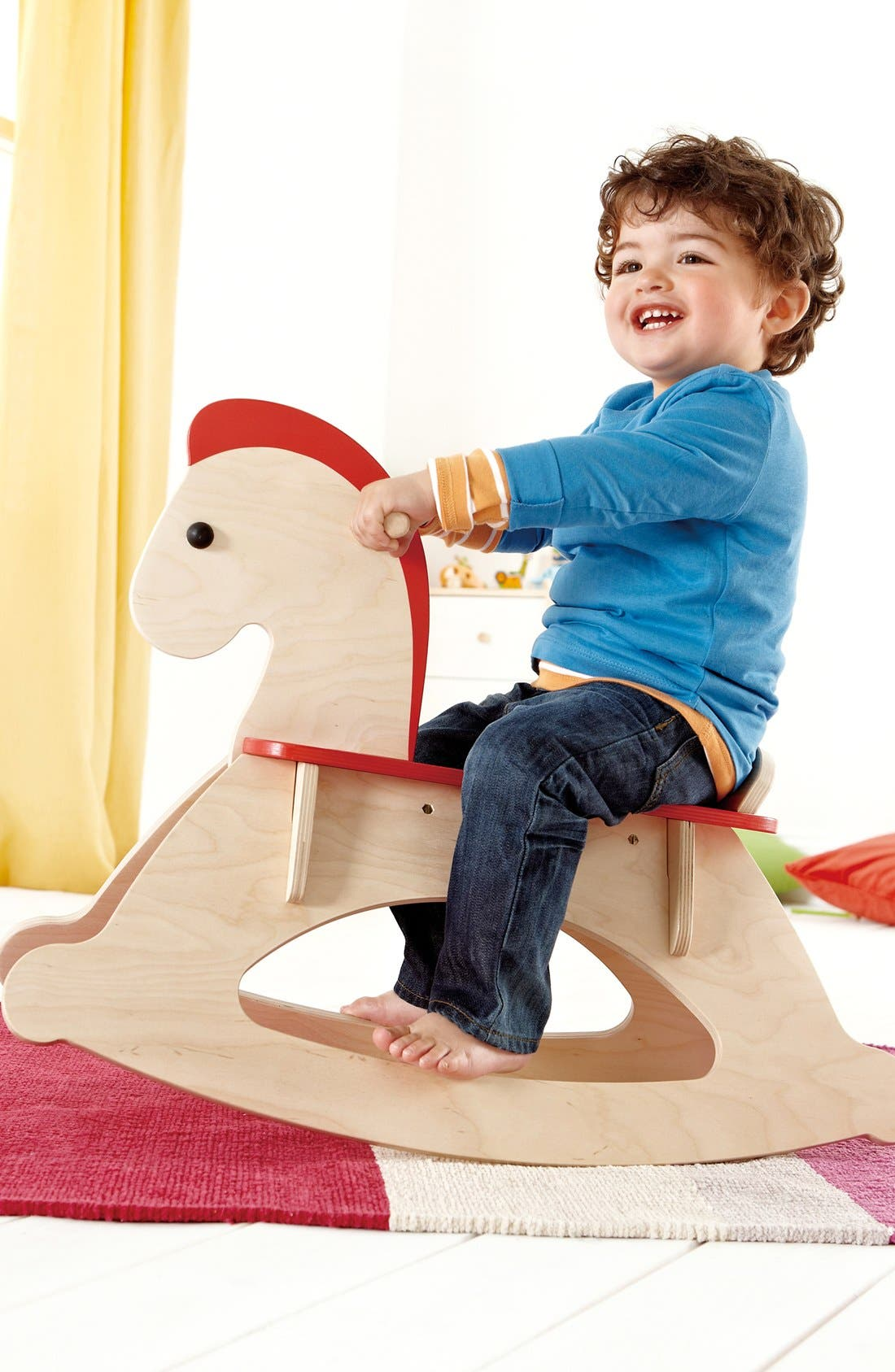 'Rock and Ride' Rocking Horse,                             Alternate thumbnail 2, color,                             Red
