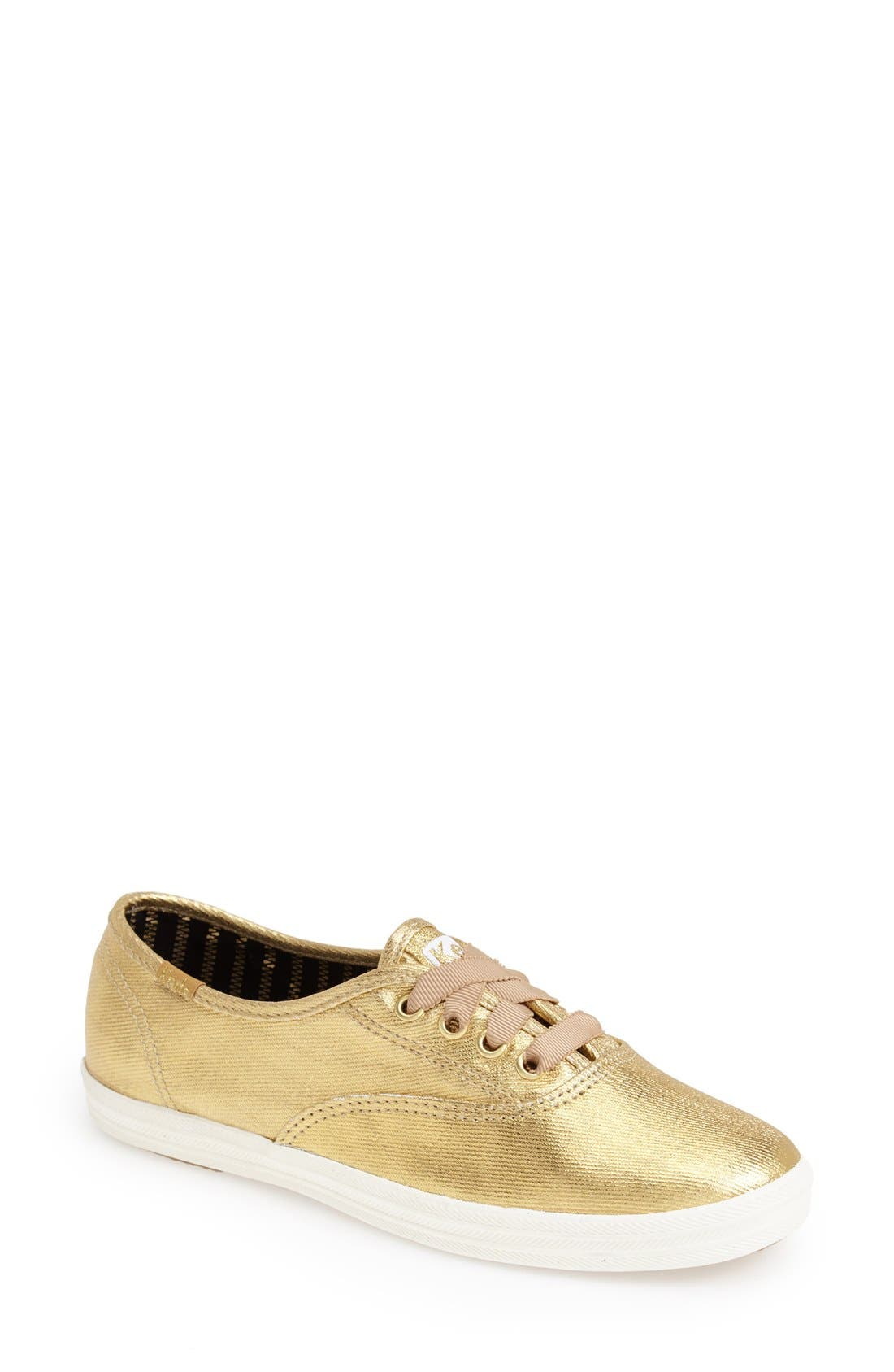 Alternate Image 1 Selected - Keds® 'Champion - Metallic' Sneaker (Women)