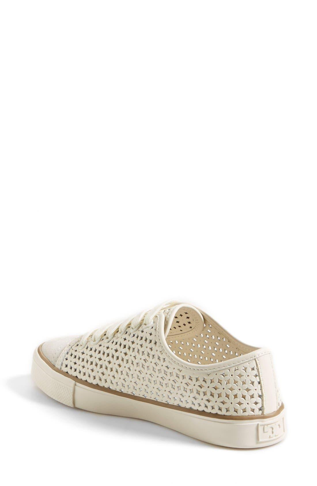 Alternate Image 2  - Tory Burch 'Daisy' Perforated Sneaker (Women)