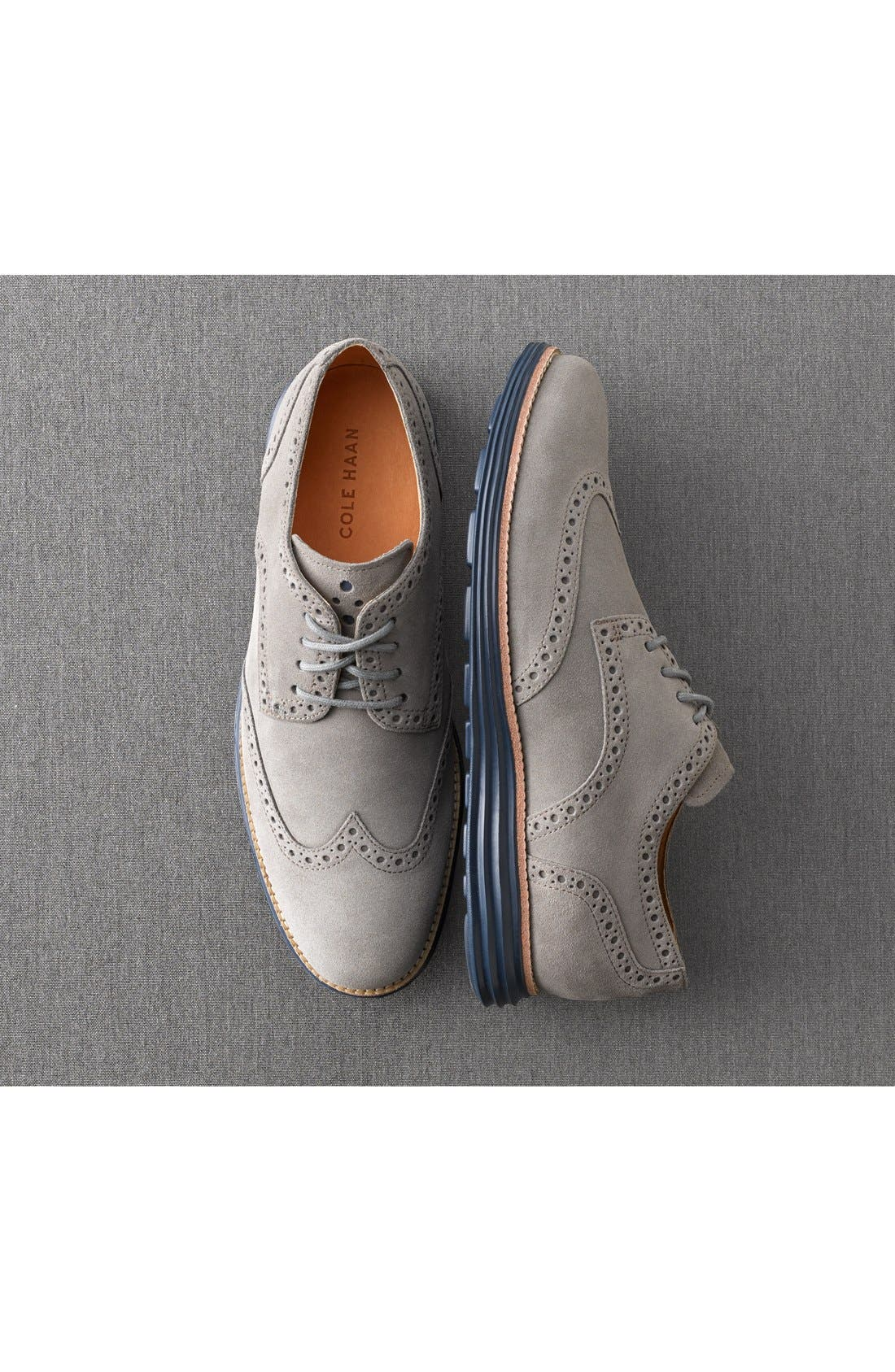Alternate Image 5  - Cole Haan 'LunarGrand' Wingtip   (Men)