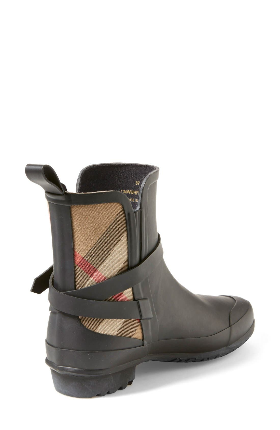 Alternate Image 2  - Burberry 'Riddlestone' Rain Boot (Women)