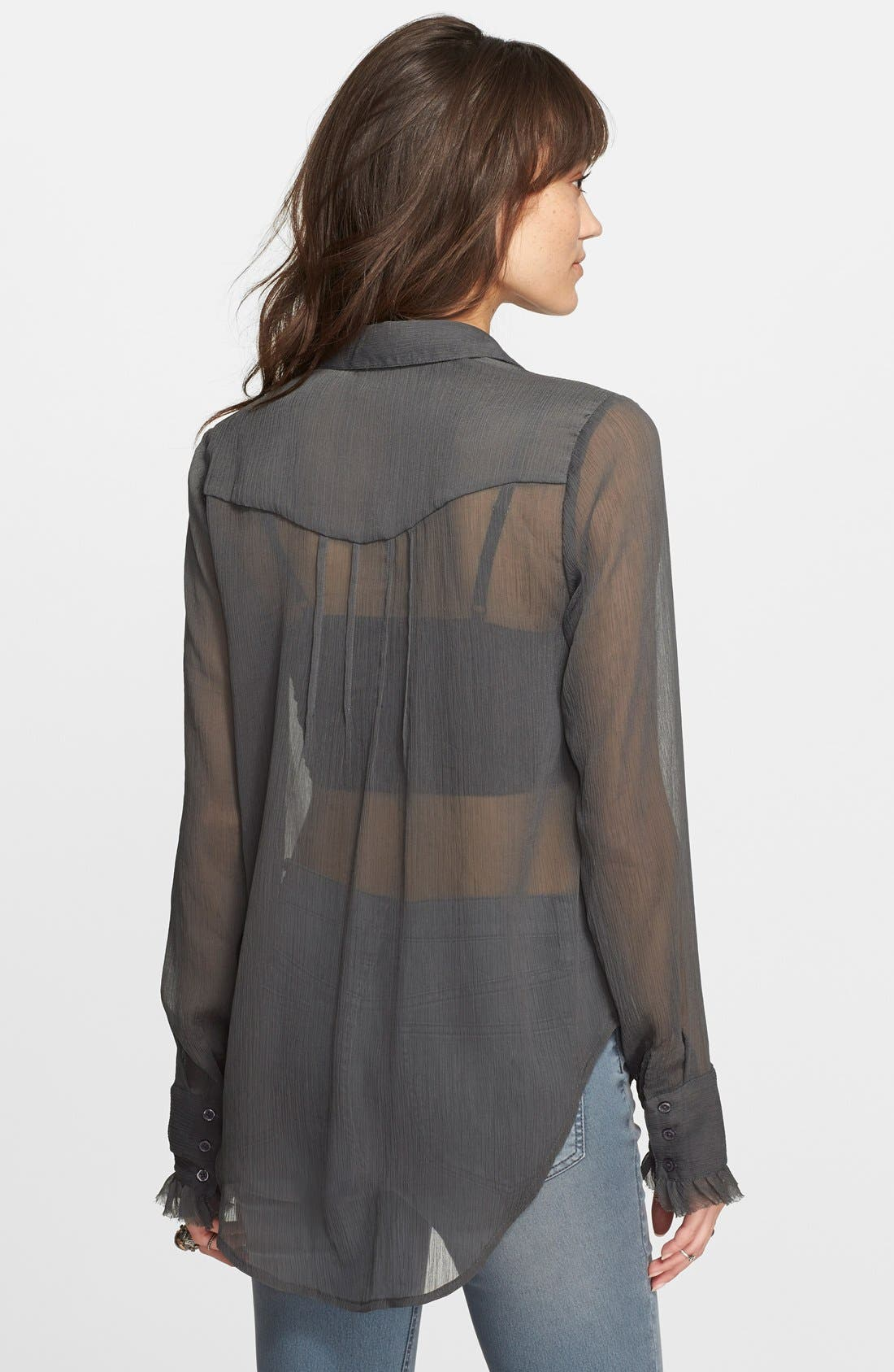 Alternate Image 2  - Free People Solid Tux Top