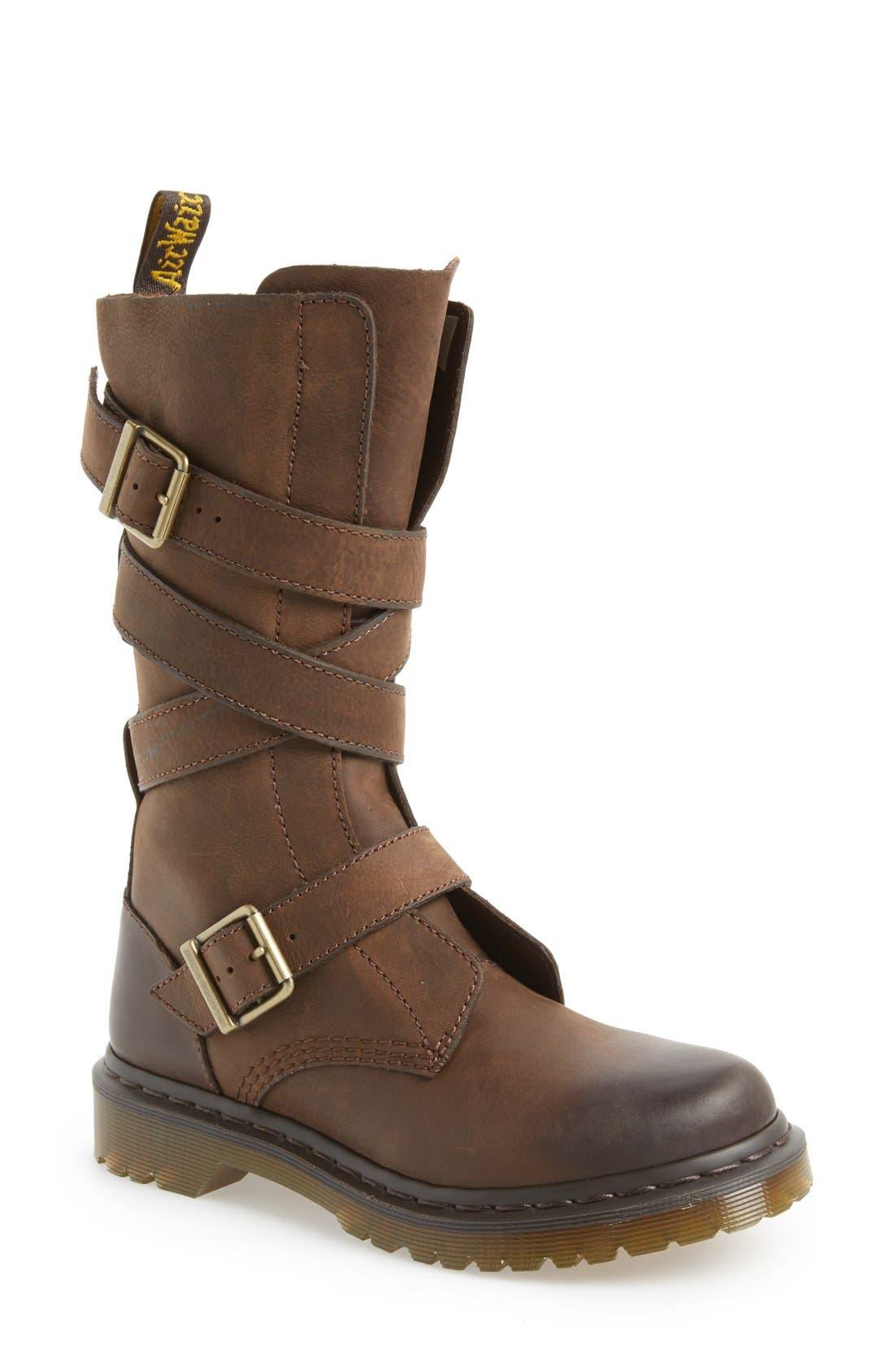 Alternate Image 1 Selected - Dr. Martens 'Lauren' Lug Military Boot (Women)
